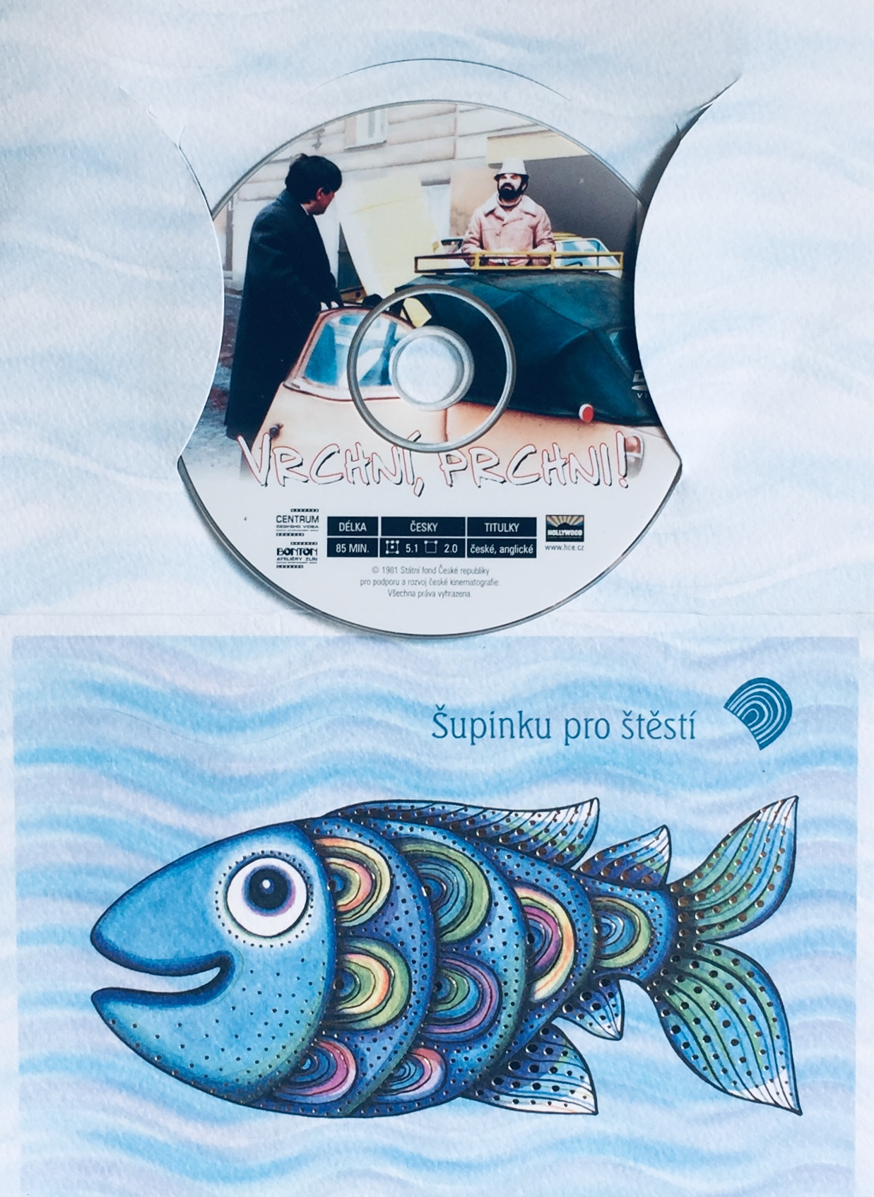 Vrchní, prchni - DVD /dárkový obal/