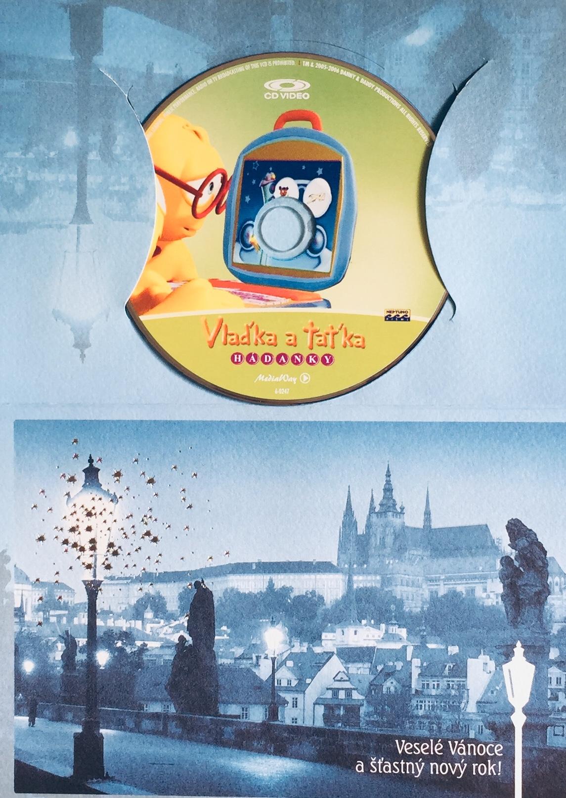 Vlaďka a Taťka - Hádanky - DVD /dárkový obal/