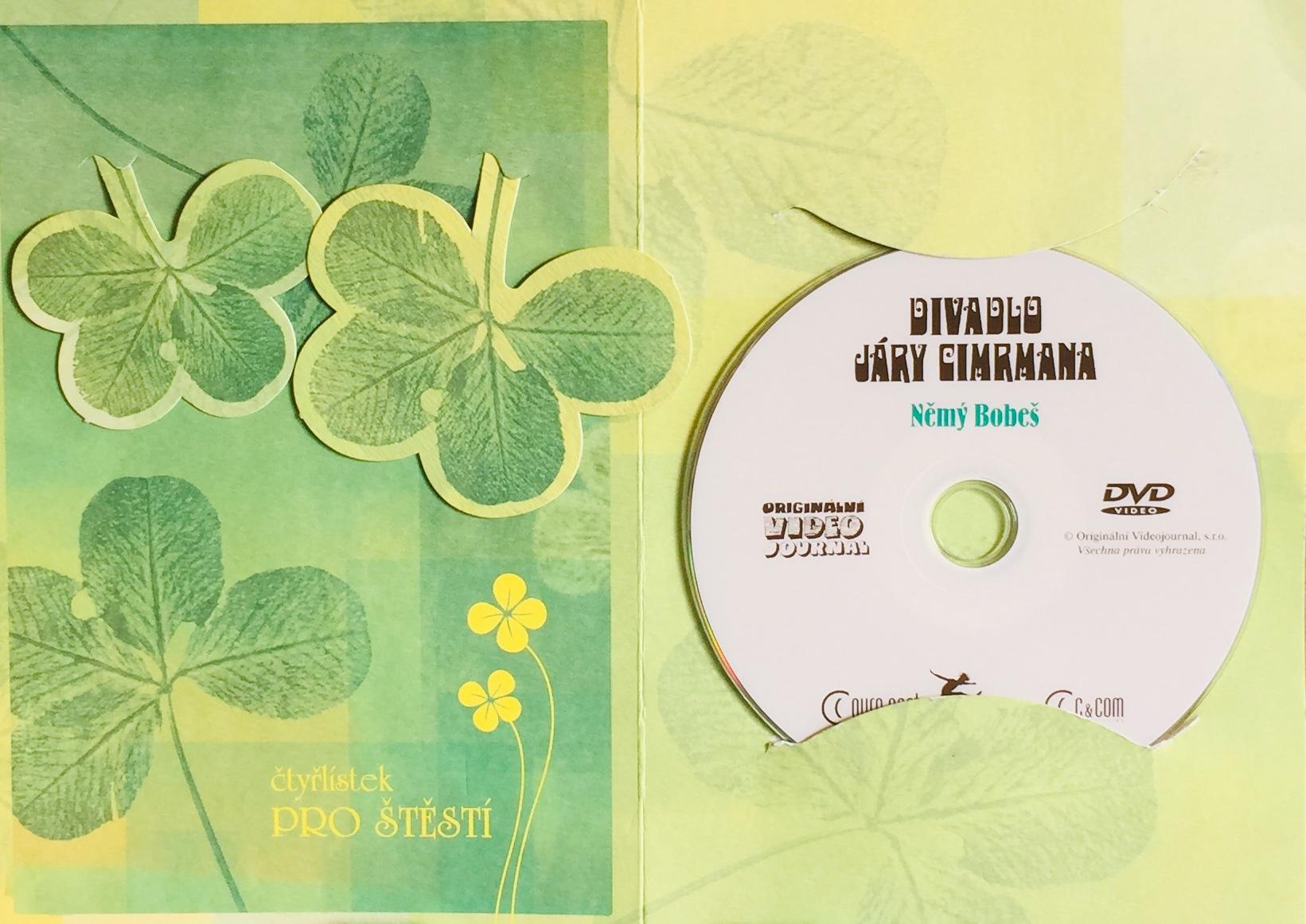 Divadlo Járy Cimrmana - Němý Bobeš - DVD /dárkový obal/