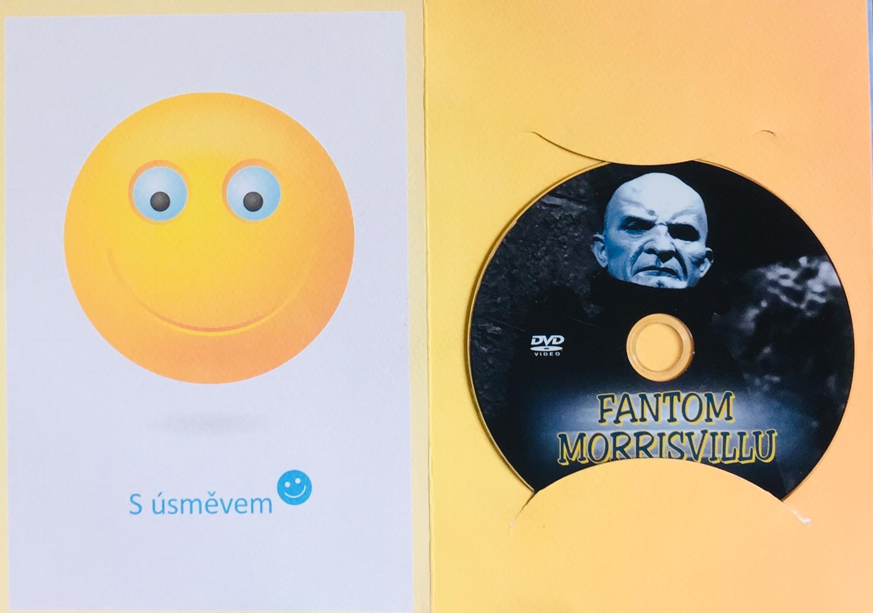 Fantom Morrisvillu - DVD /dárkový obal/