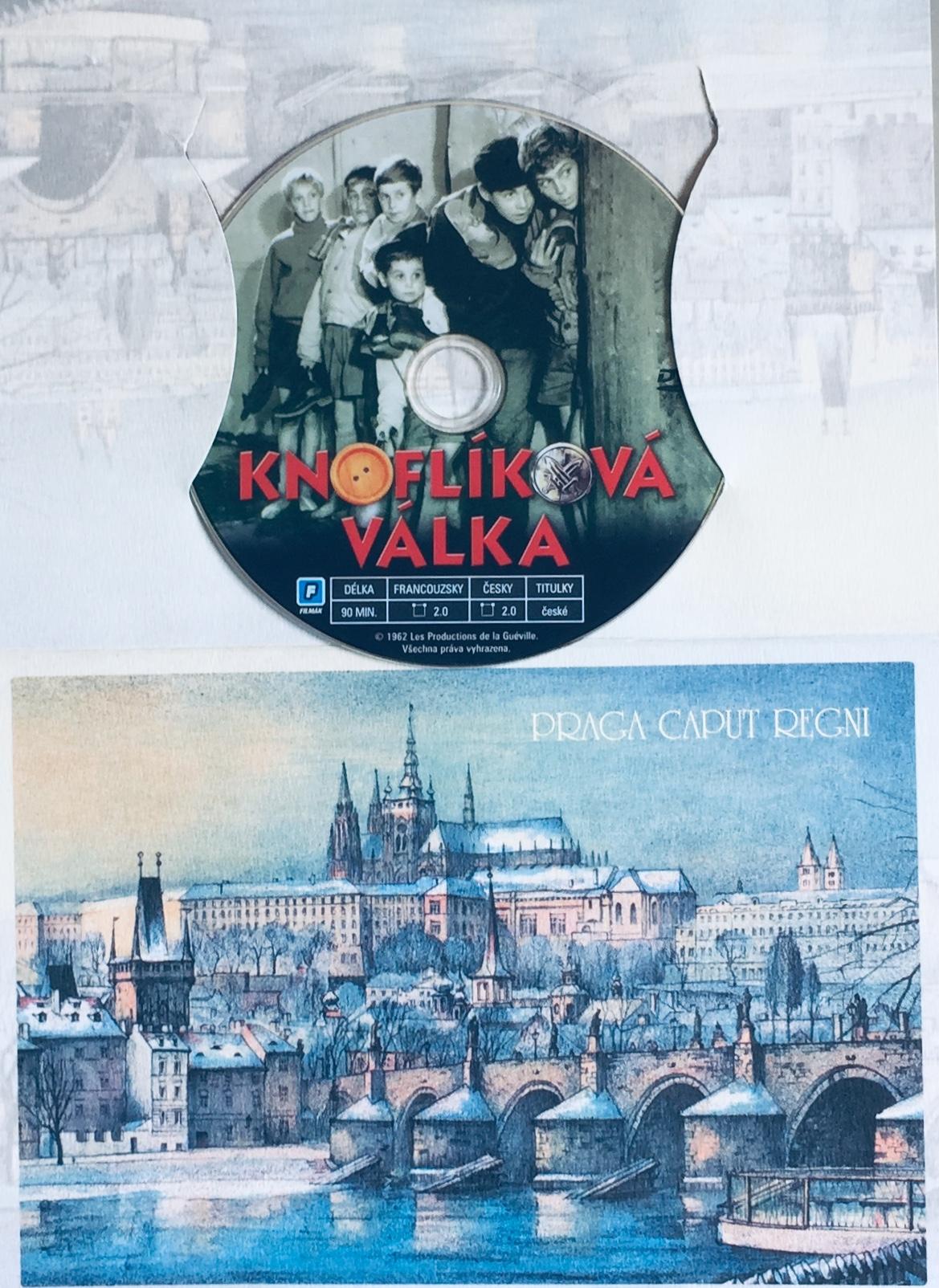 Knoflíková válka - DVD /dárkový obal/