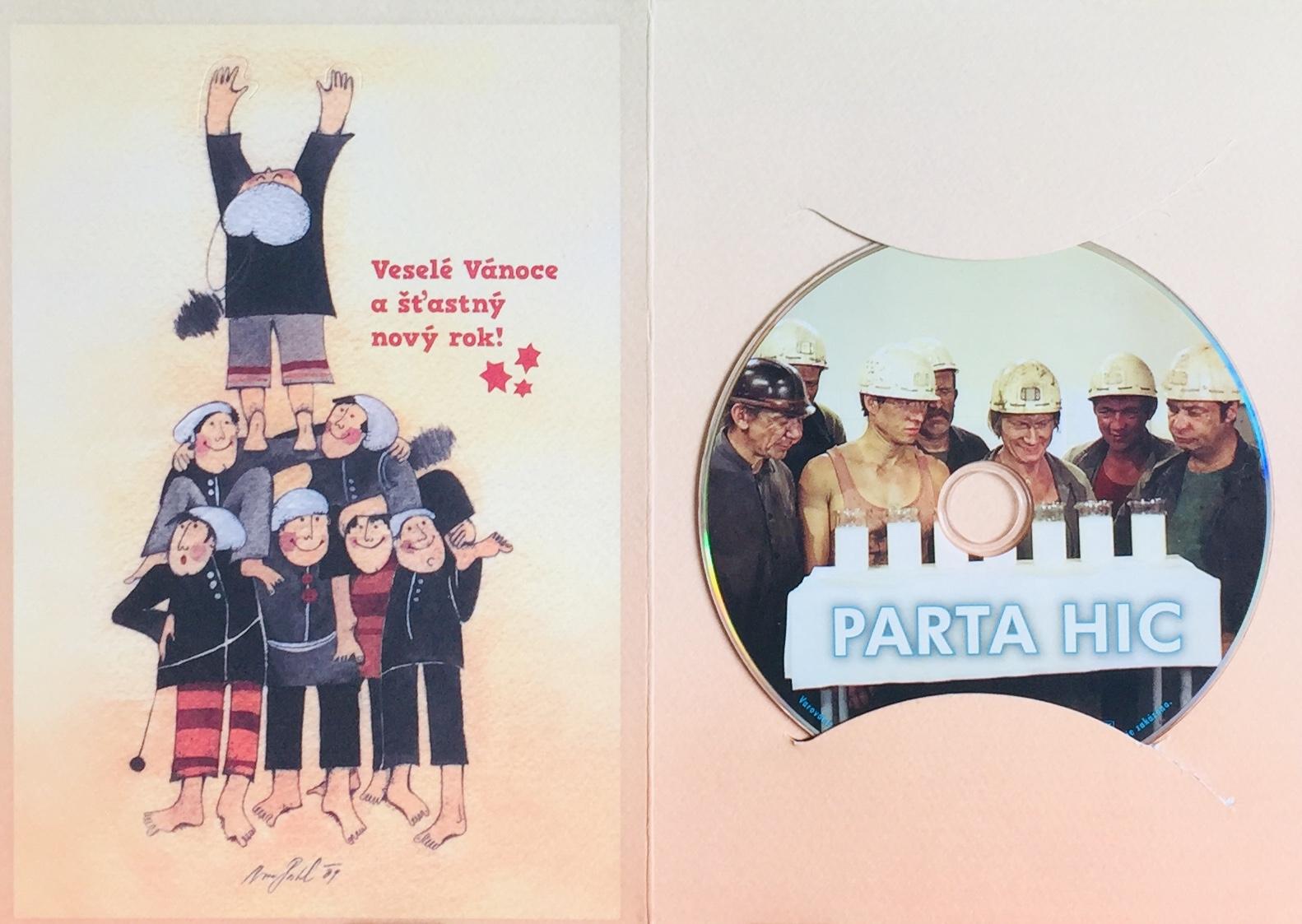 Parta Hic - DVD /dárkový obal/