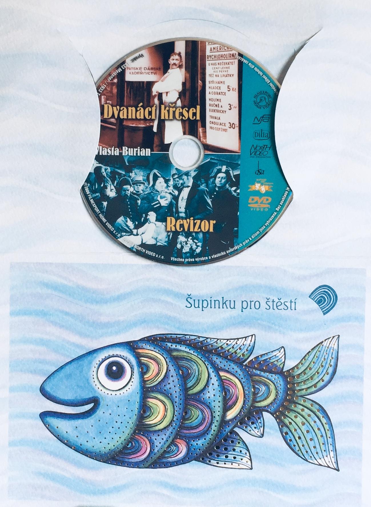 Dvanáct křesel / Revizor - DVD /dárkový obal/