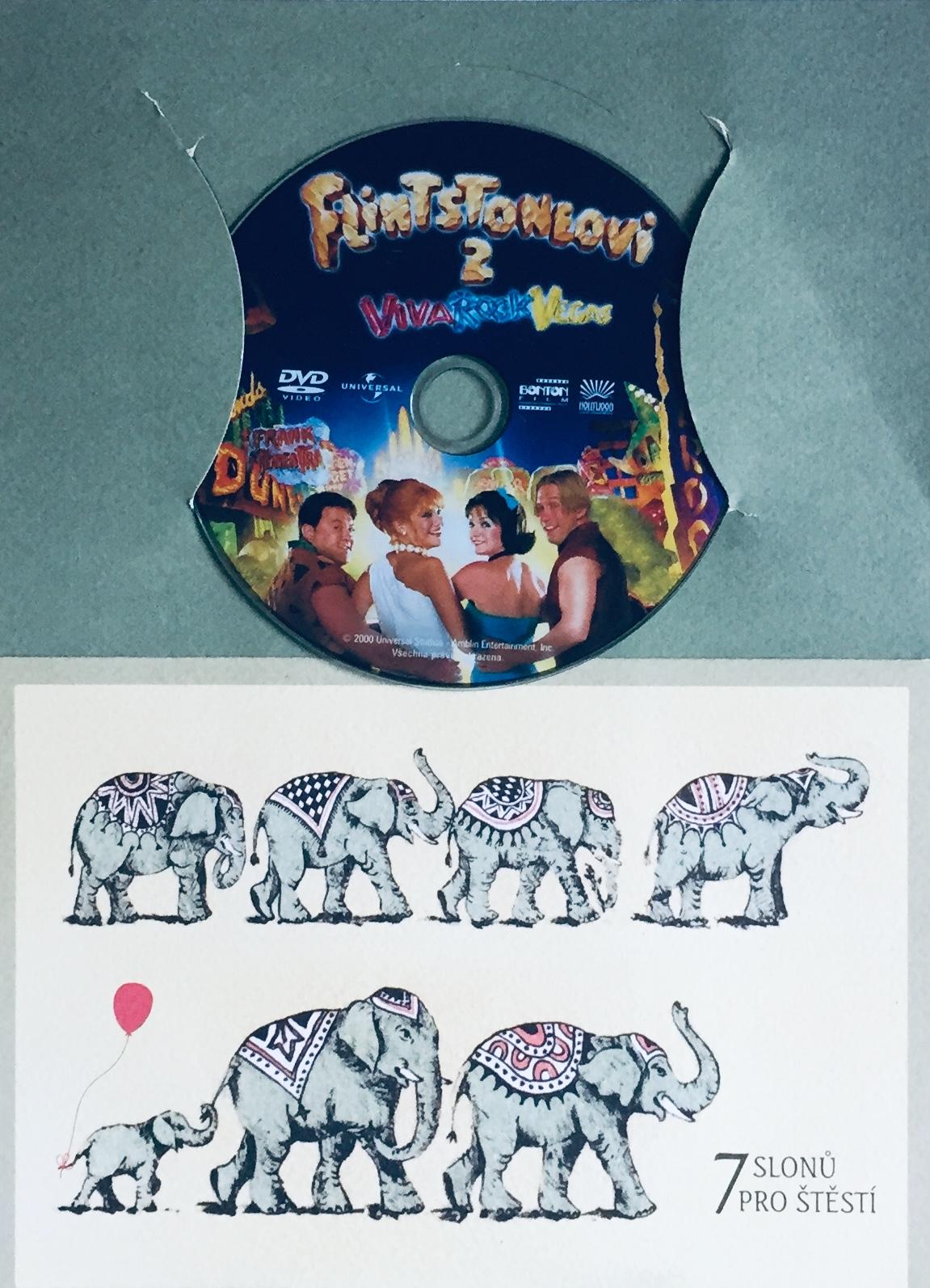 Flintstoneovi 2 - Viva Rock Vegas - DVD /dárkový obal/