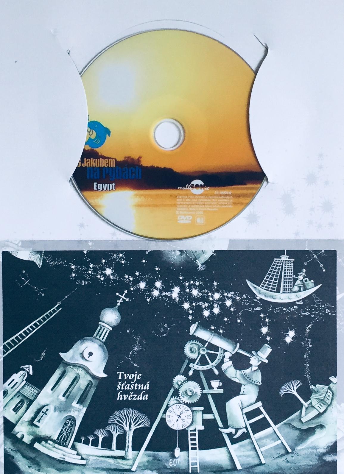 S Jakubem na rybách - Egypt - DVD /dárkový obal/