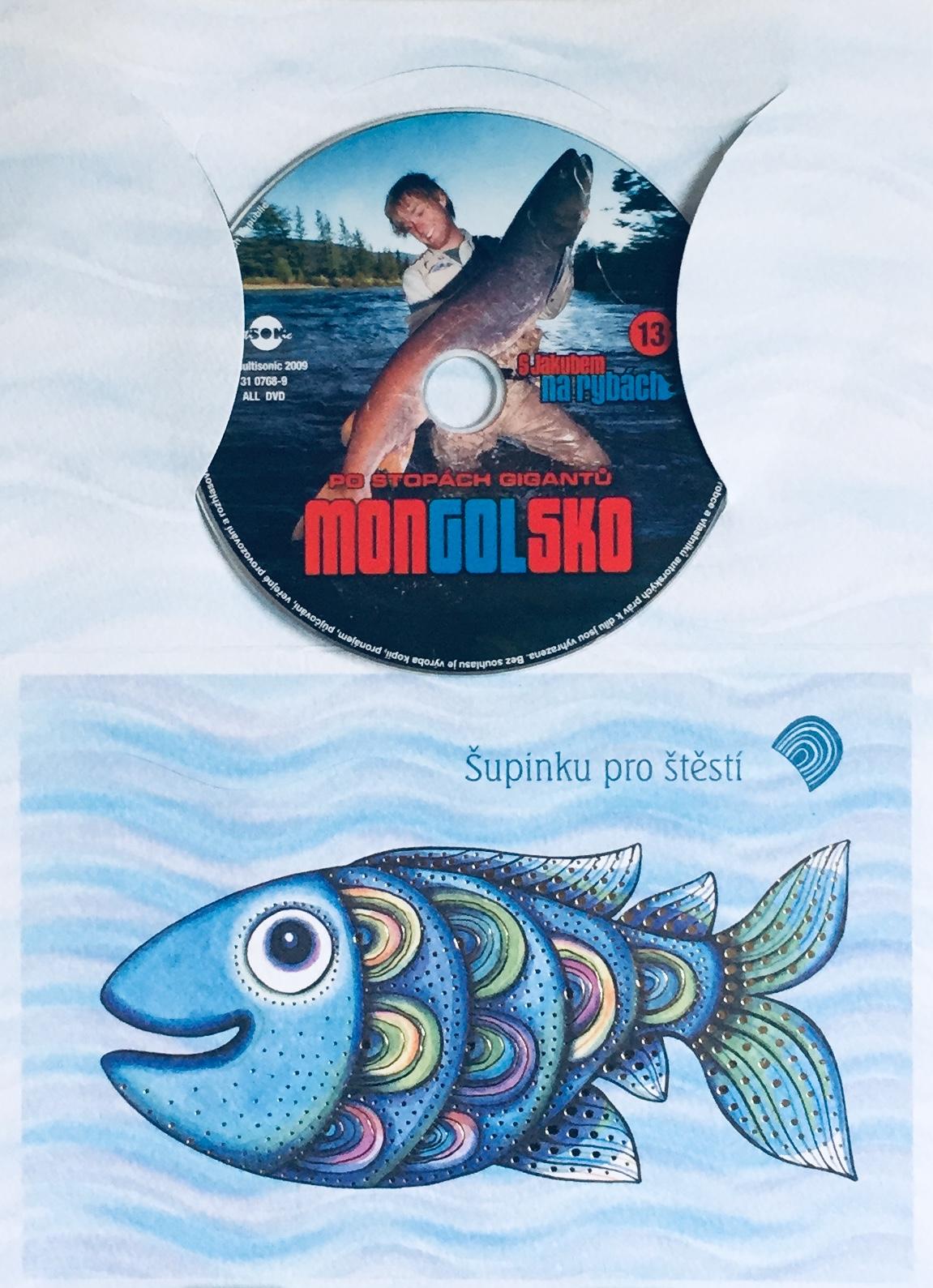 S Jakubem na rybách 13 - Po stopách gigantů - DVD /dárkový obal/