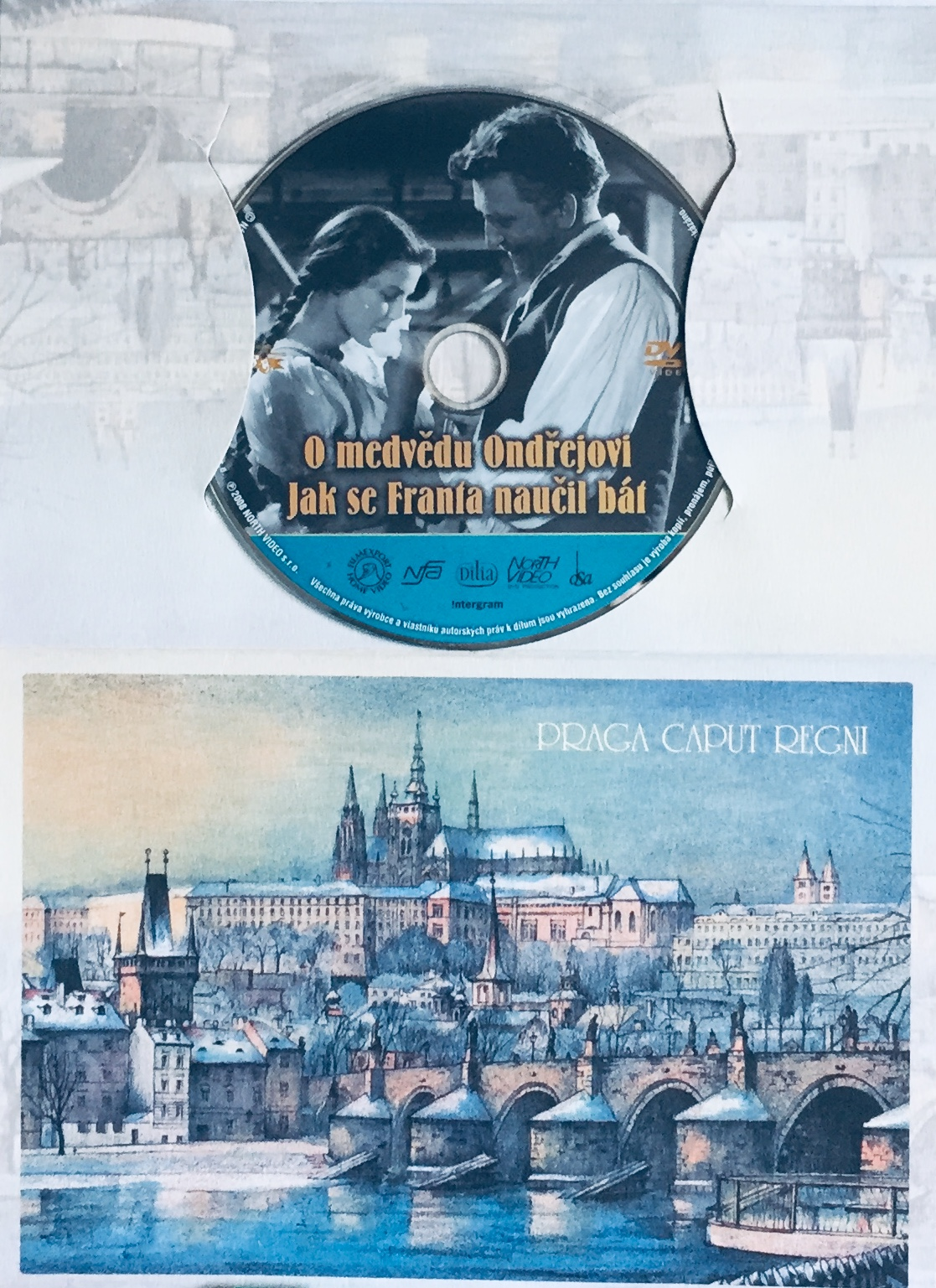 O medvědu Ondřejovi / Jak se Franta naučil bát - DVD /dárkový obal/