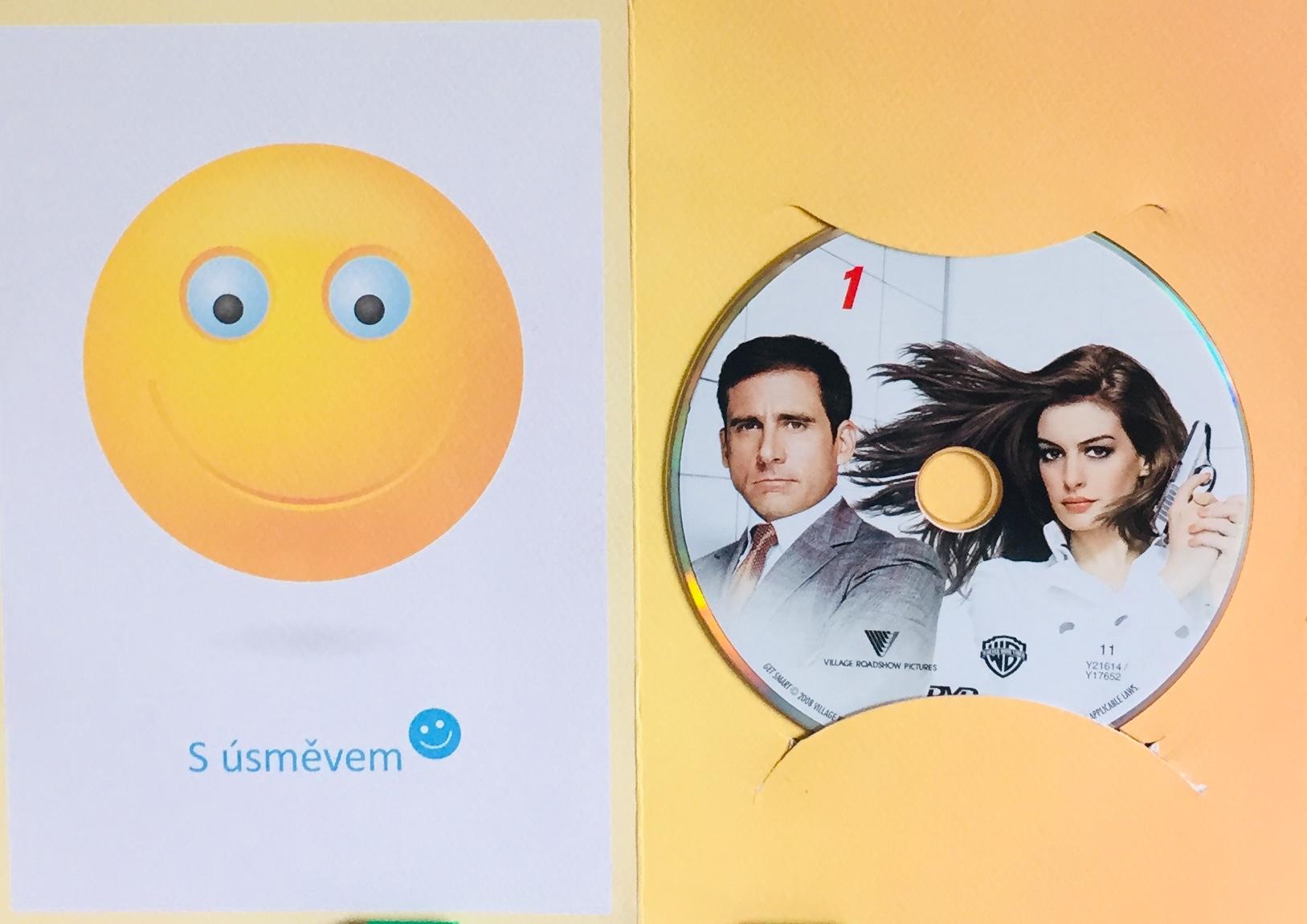Get Smart / Dostaňte agenta Smarta - DVD /dárkový obal/
