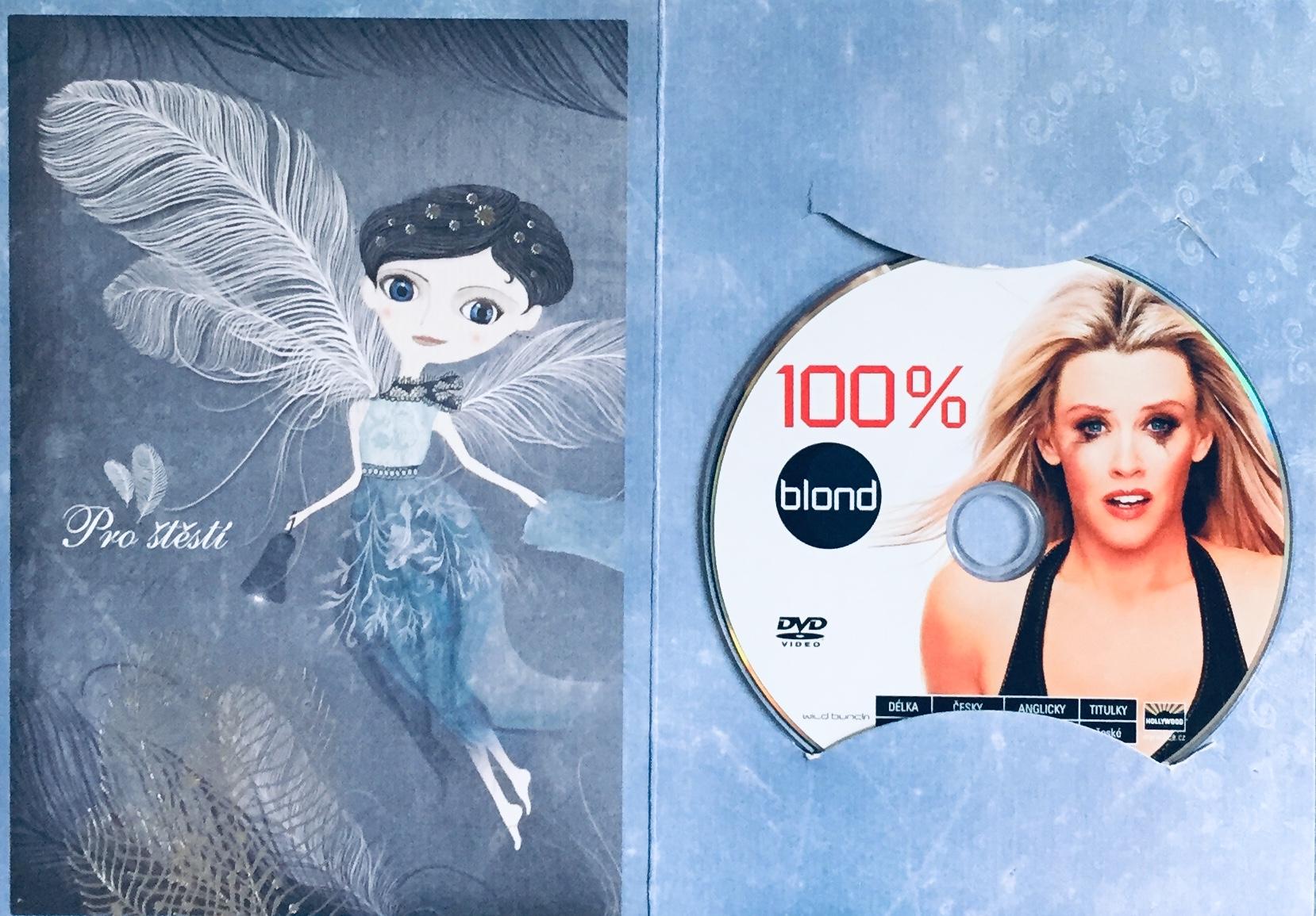 100% blond - DVD /dárkový obal/
