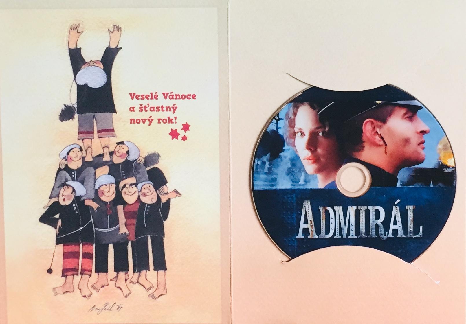 Admirál - DVD /dárkový obal/