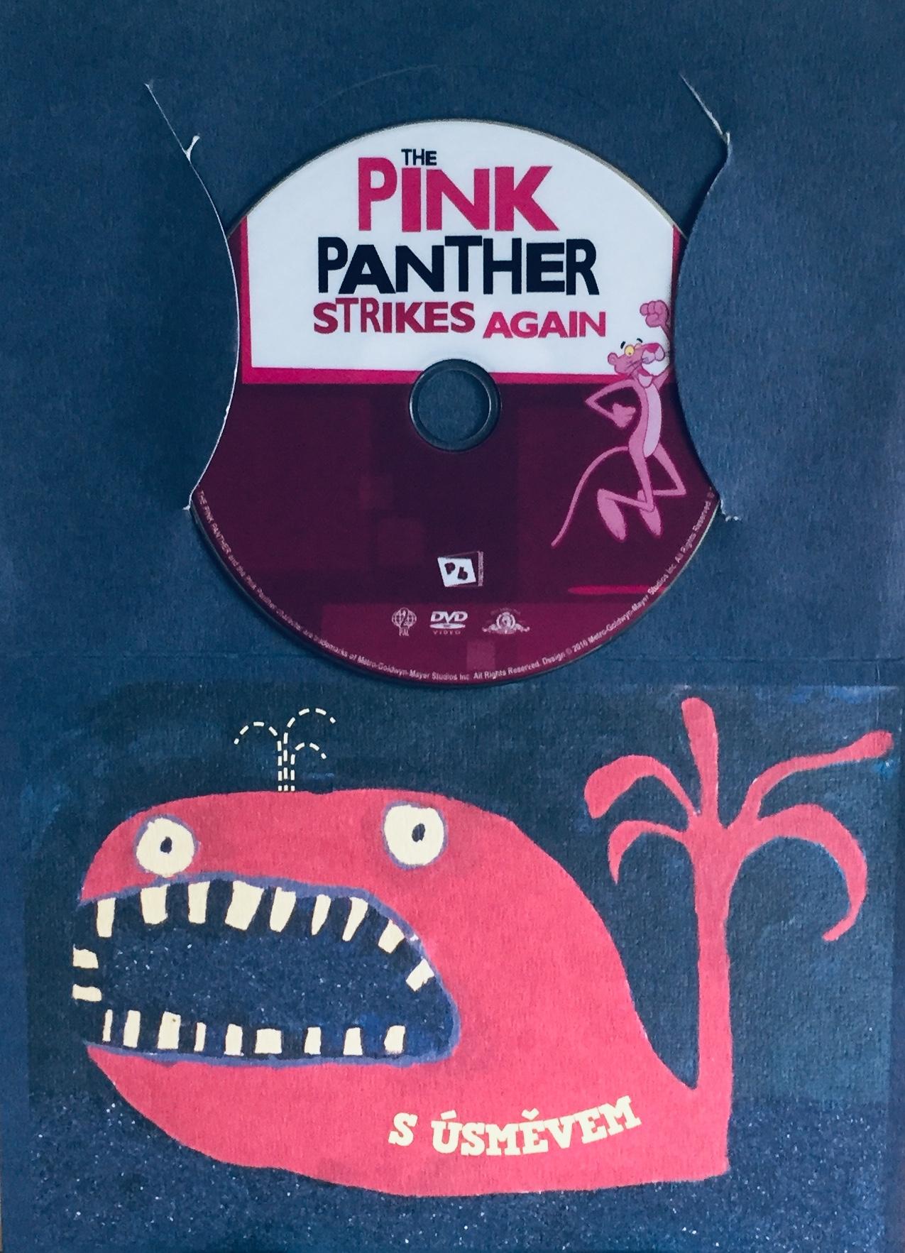 The Pink Panther Strikes Again / Růžový Panter znovu zasahuje - DVD /dárkový obal/