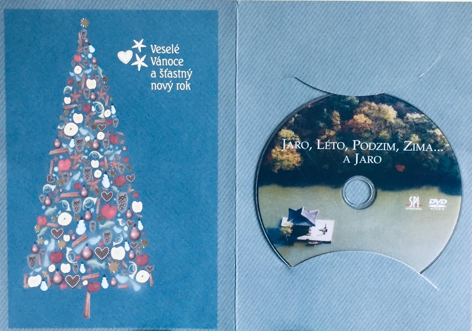 Jaro, Léto, Podzim, Zima...a Jaro - DVD /dárkový obal/