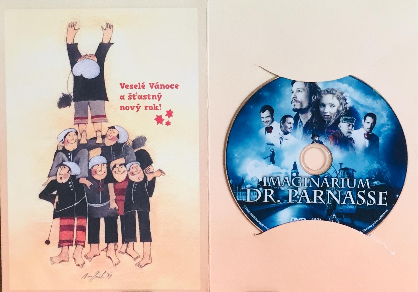 Imaginárium Dr. Parnasse - DVD /dárkový obal/