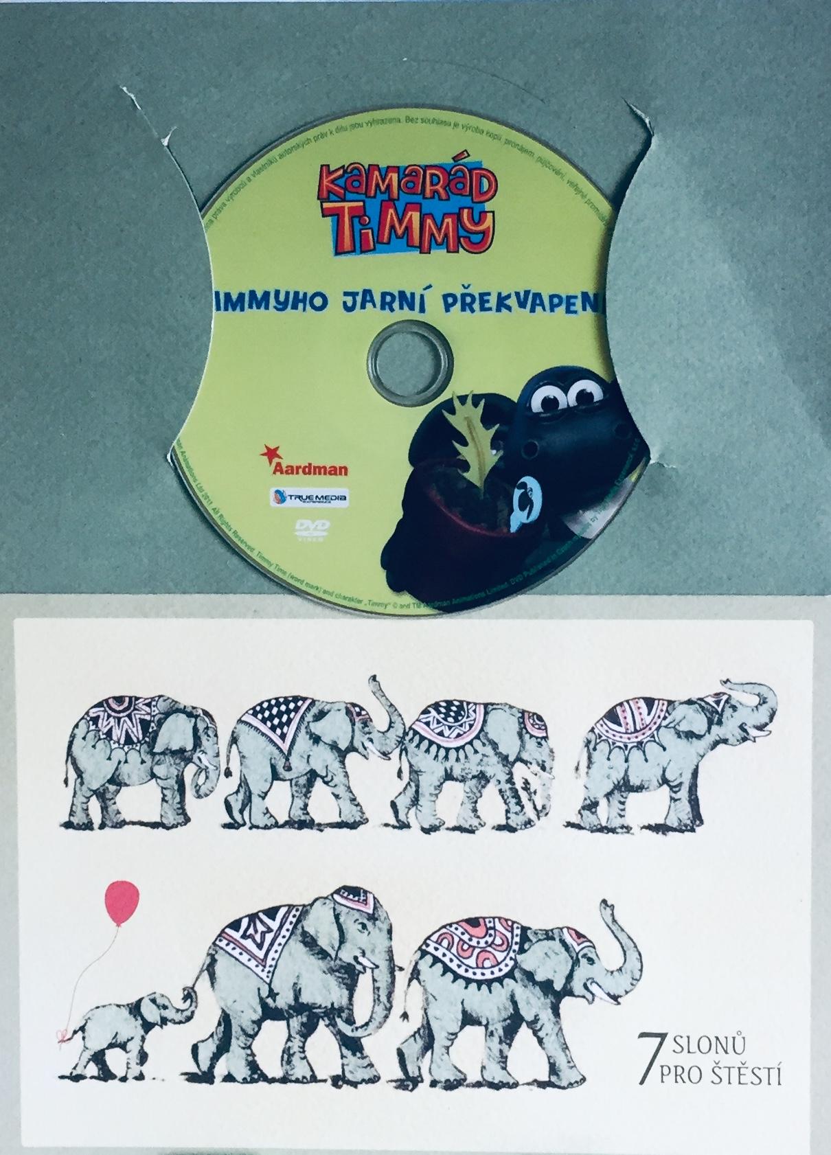 Kamarád Timmy - Timmyho jarní překvapení - DVD /dárkový obal/