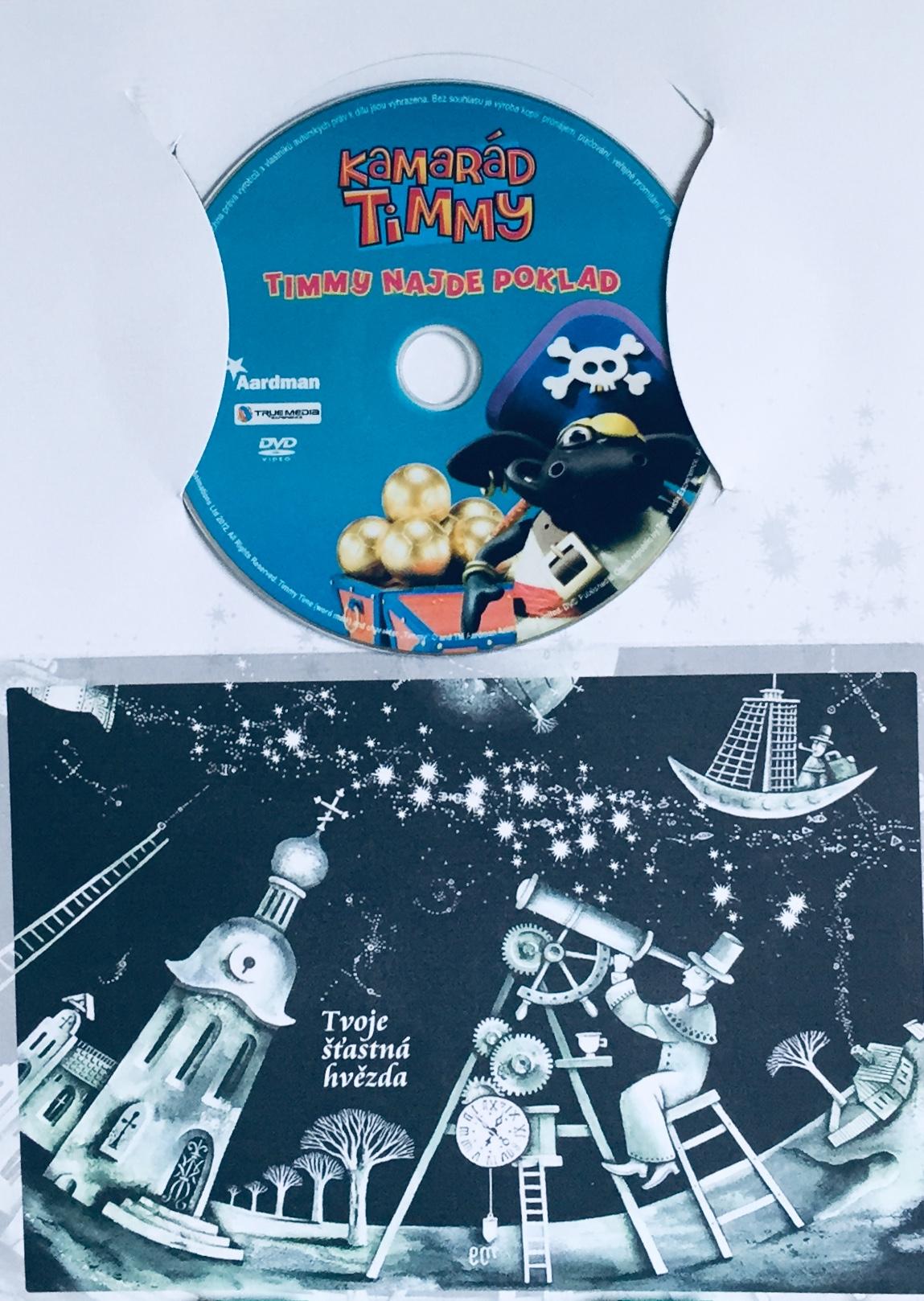 Kamarád Timmy - Timmy najde poklad - DVD /dárkový obal/