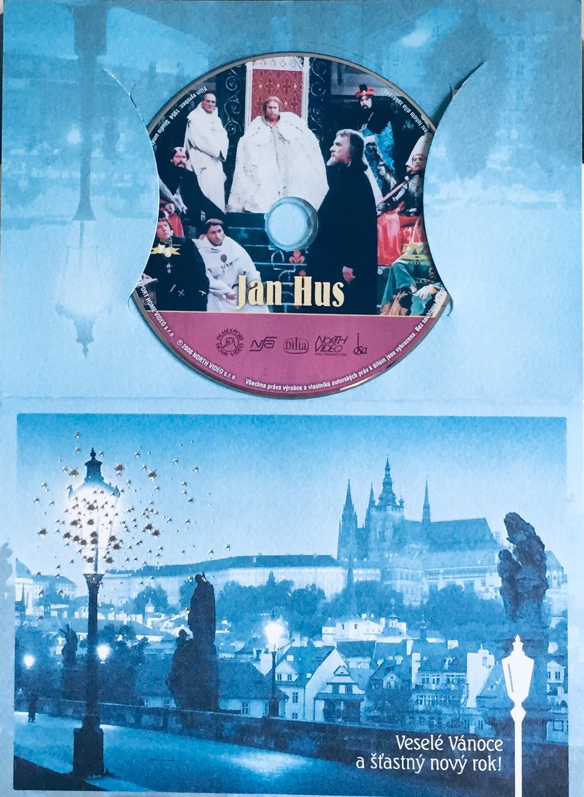 Jan Hus - DVD /dárkový obal/
