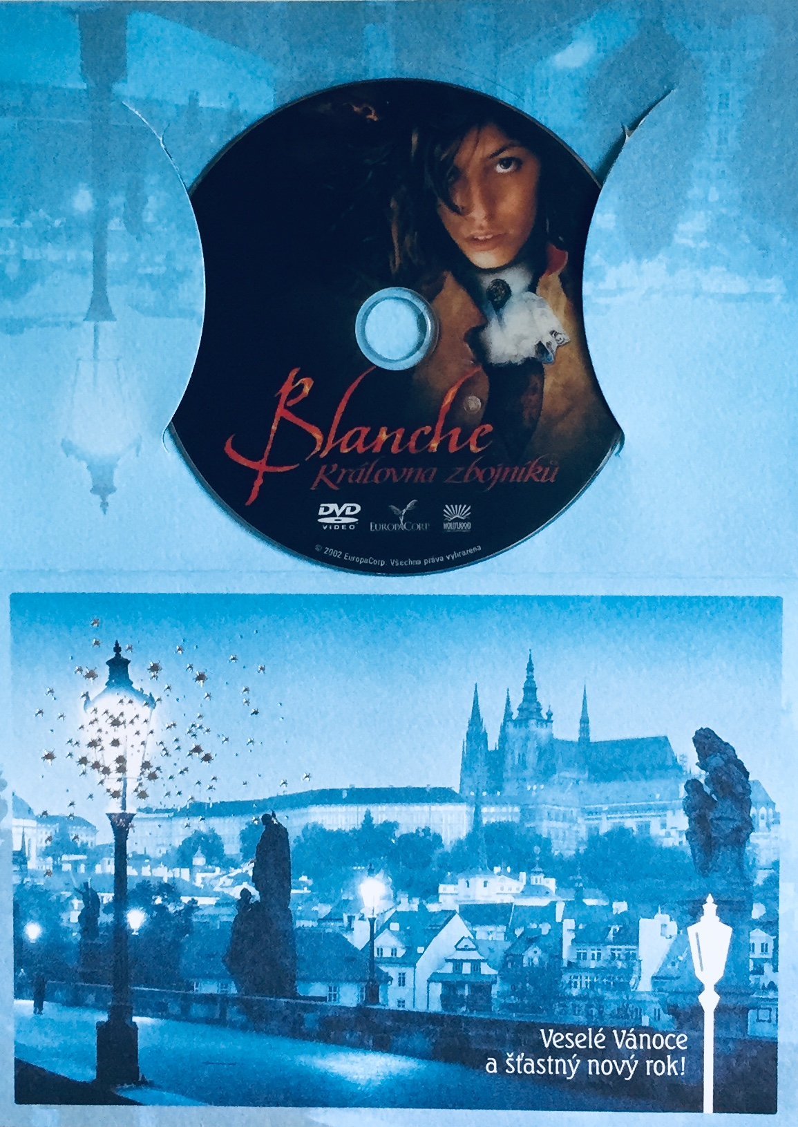 Blanche - Královna zbojníků - DVD /dárkový obal/