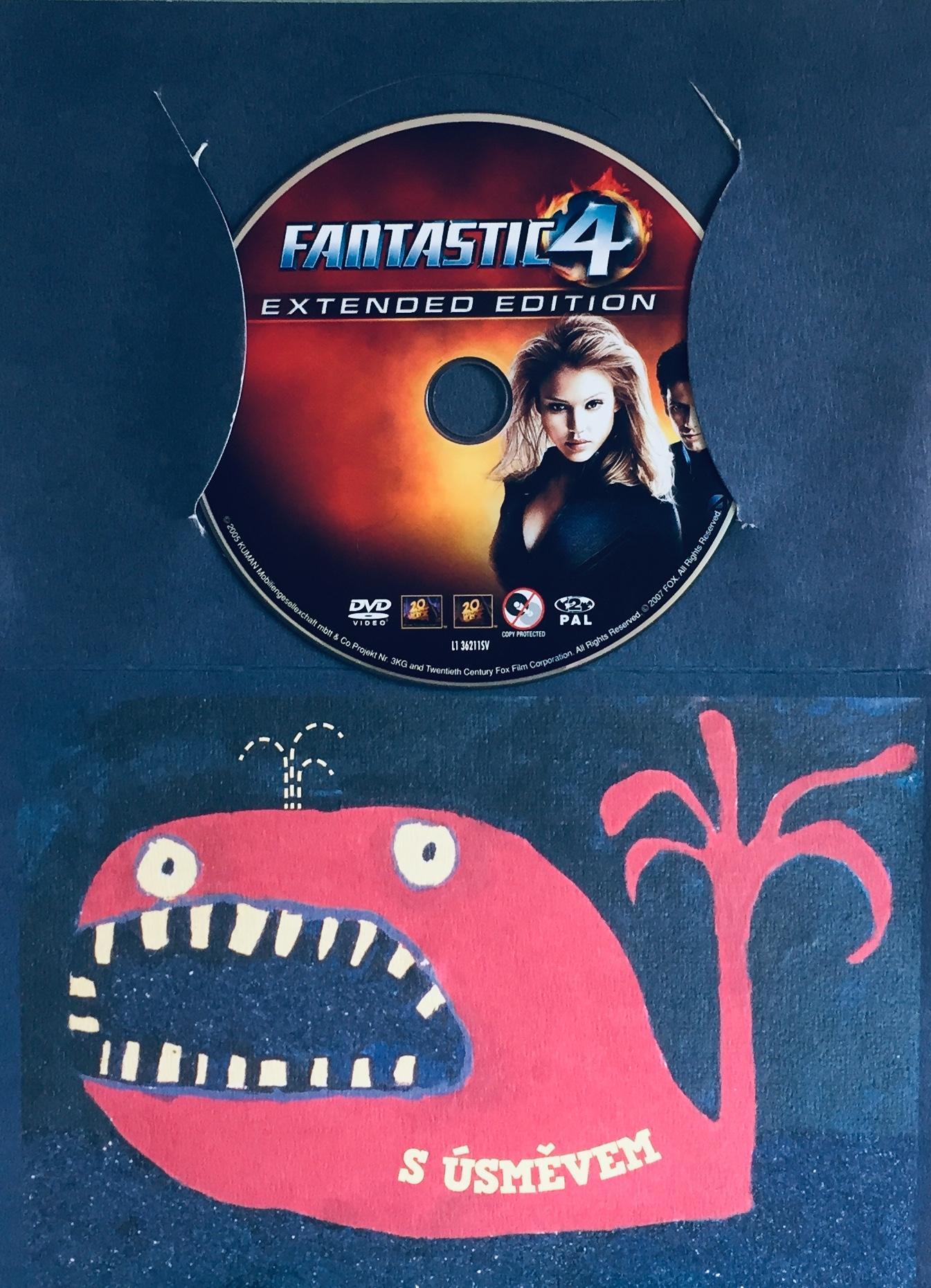 Fantastic 4 / Fantastická čtyřka - DVD /dárkový obal/