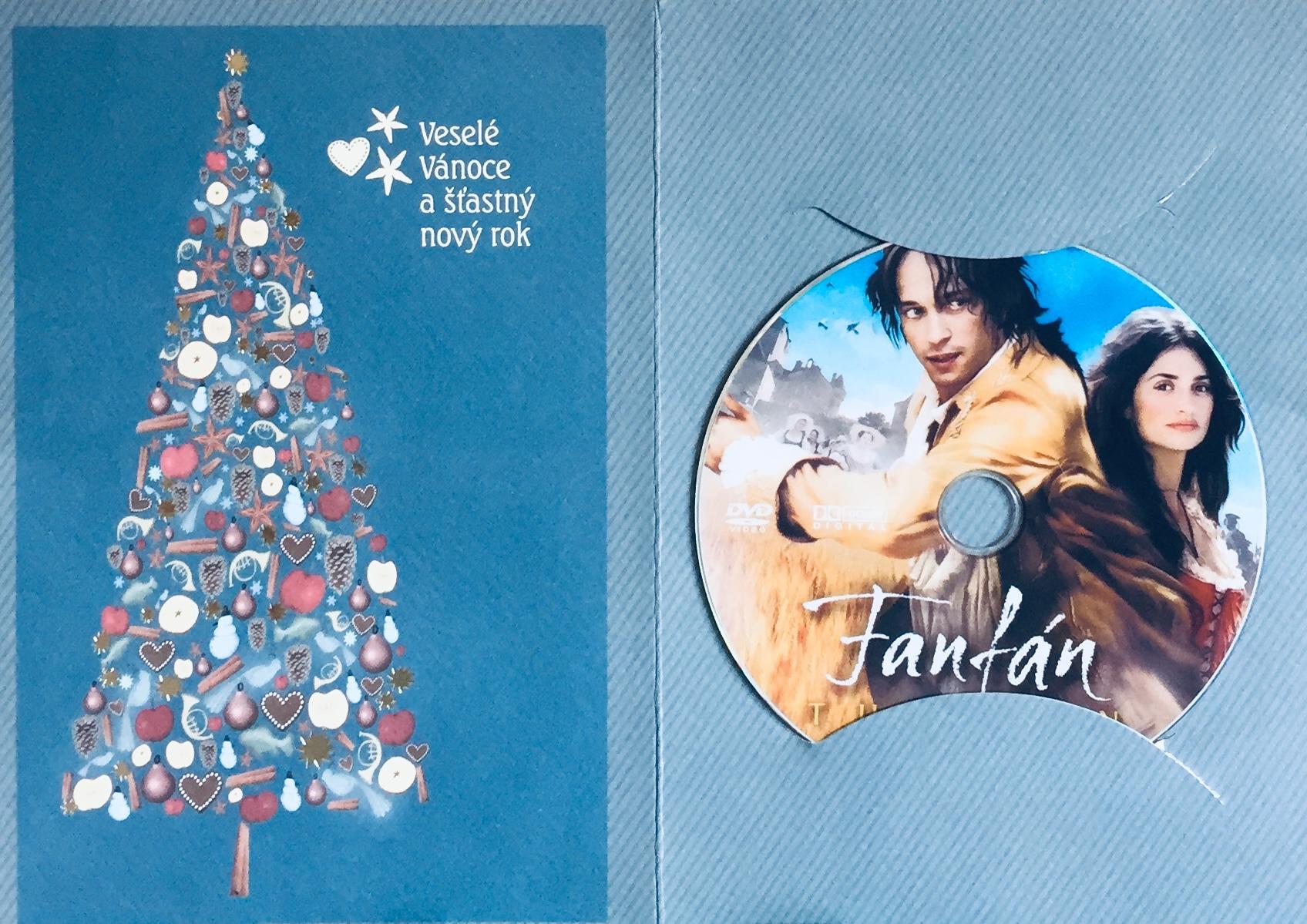 Fanfán Tulipán - Penélope Cruz - DVD /dárkový obal/