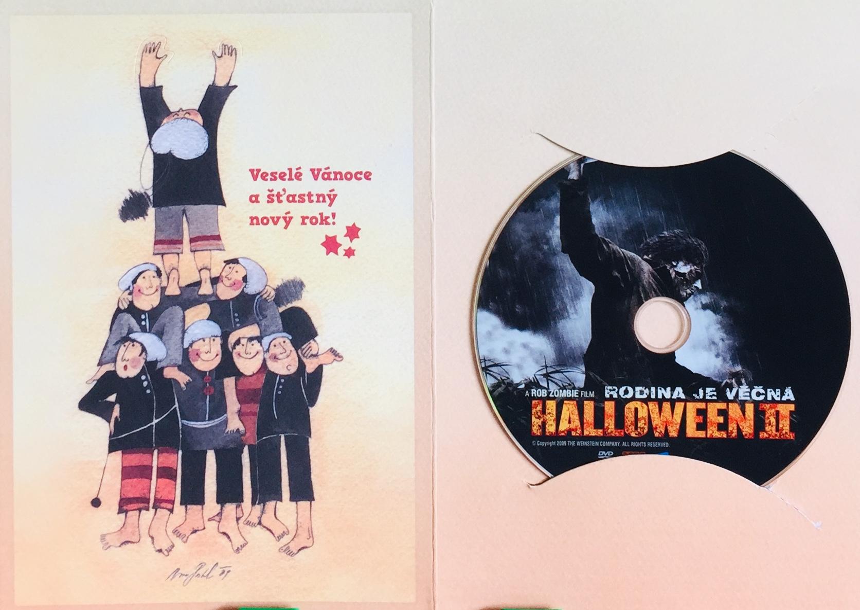 Halloween II - Rodina je věčná - DVD /dárkový obal/