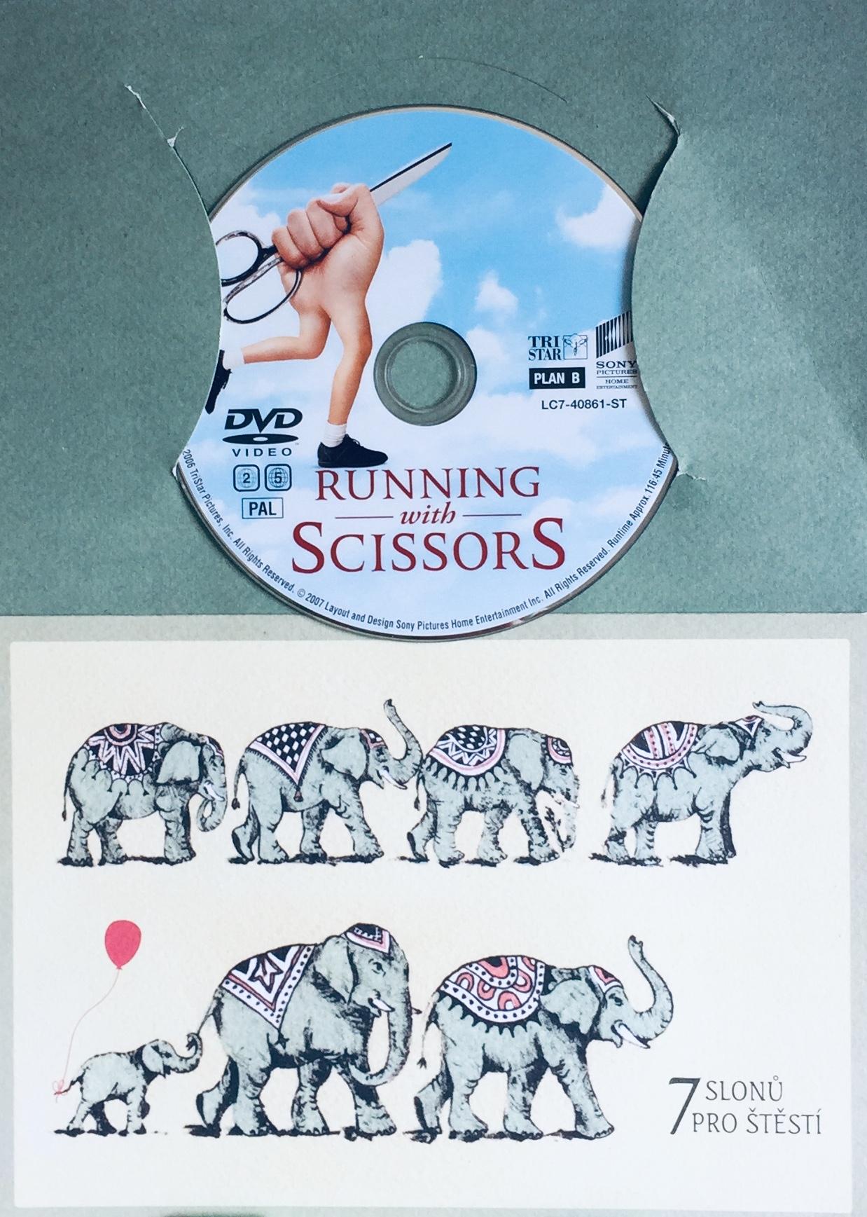 Running with Scissors / Hlava nehlava - DVD /dárkový obal/