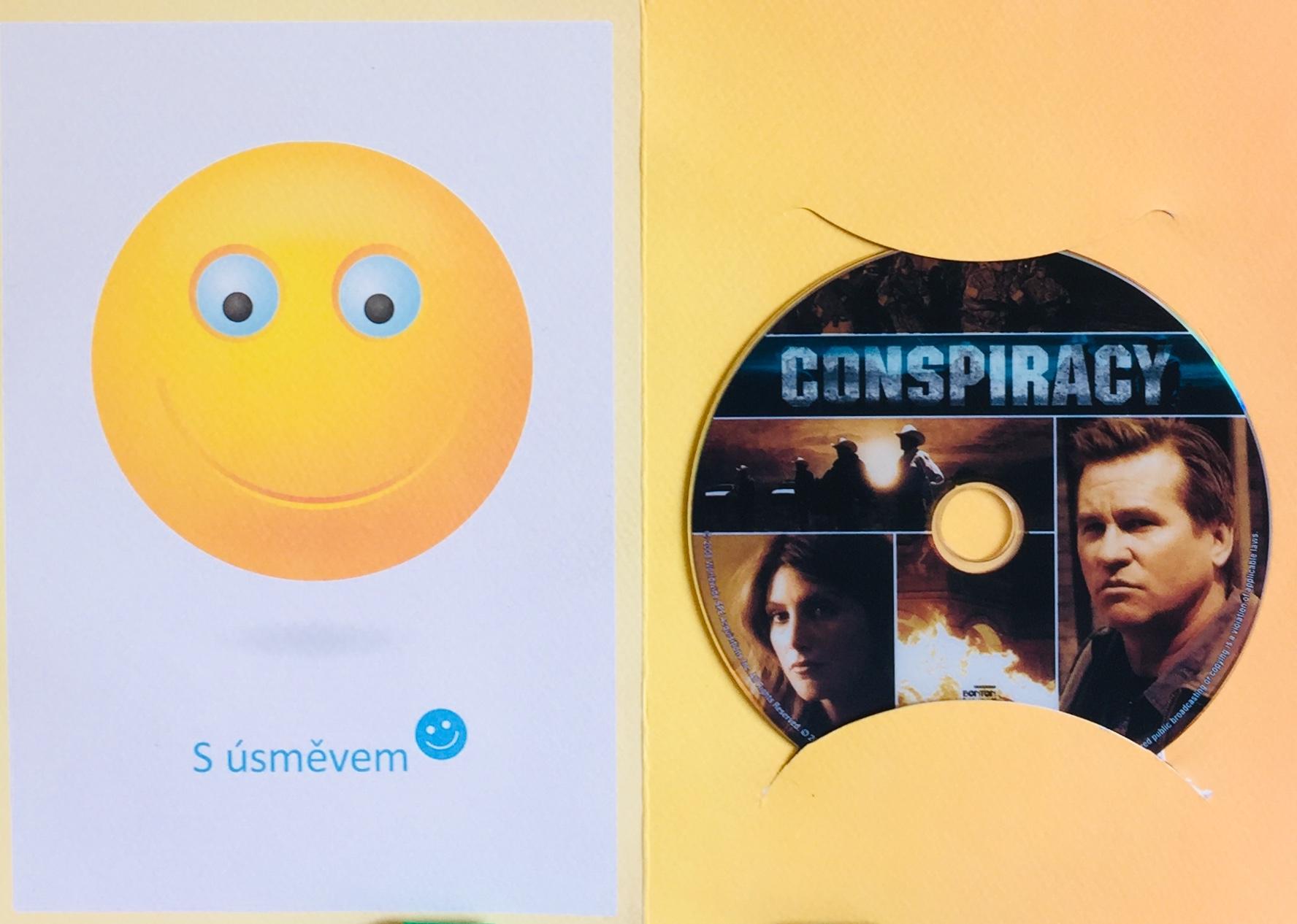 Conspiracy / Tajná dohoda - DVD /dárkový obal/