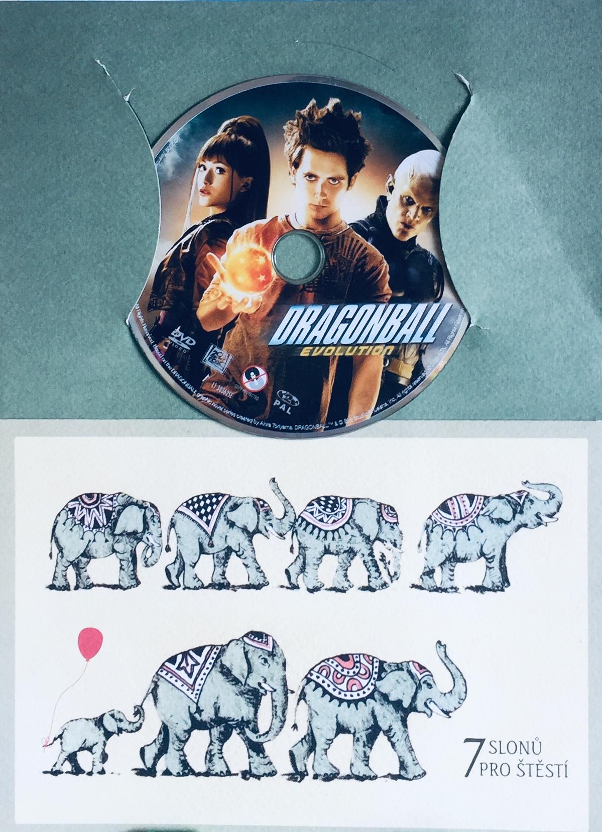 Dragonball - Evolution - DVD /dárkový obal/