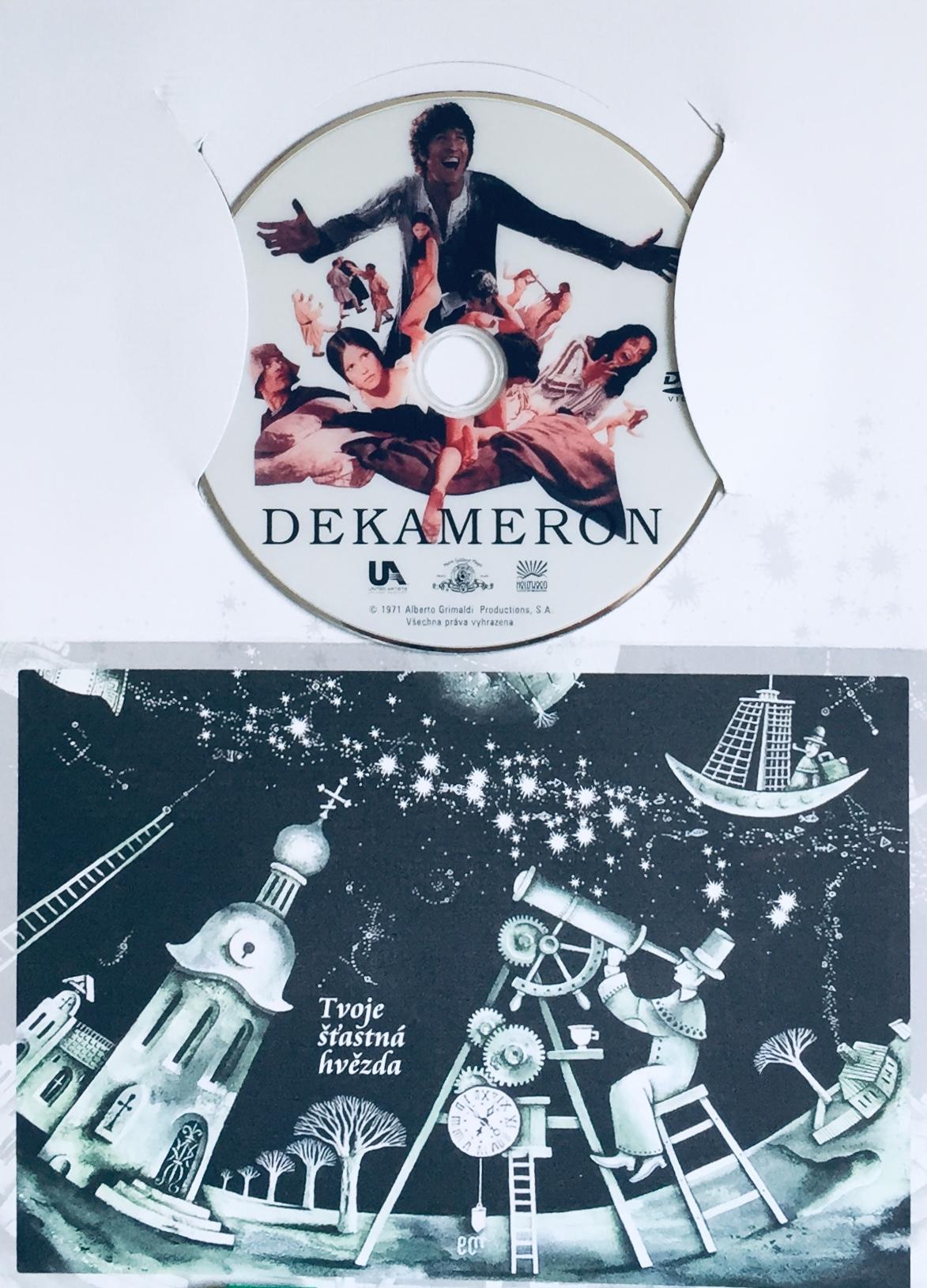 Dekameron - DVD /dárkový obal/
