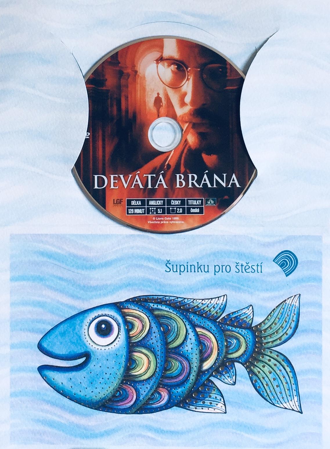 Devátá brána - DVD /dárkový obal/