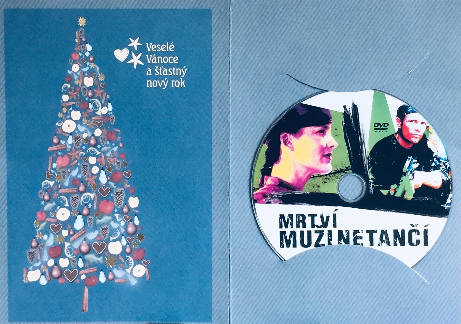Mrtví muži netančí - DVD /dárkový obal/