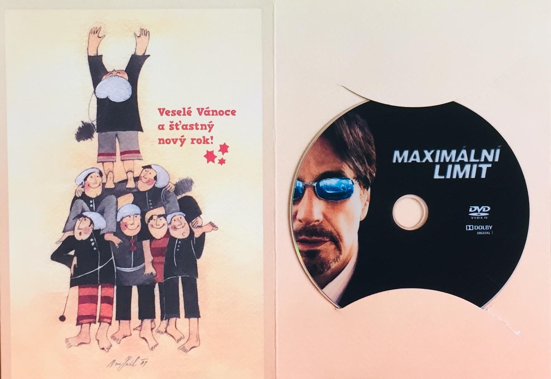 Maximální limit - DVD /dárkový obal/
