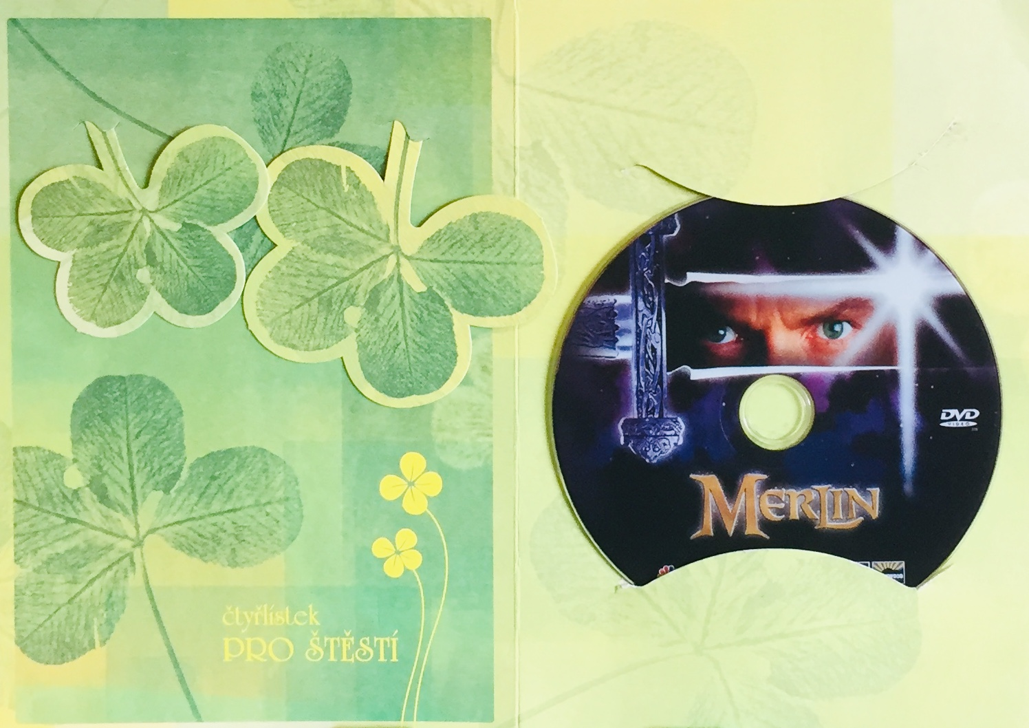 Merlin - DVD /dárkový obal/