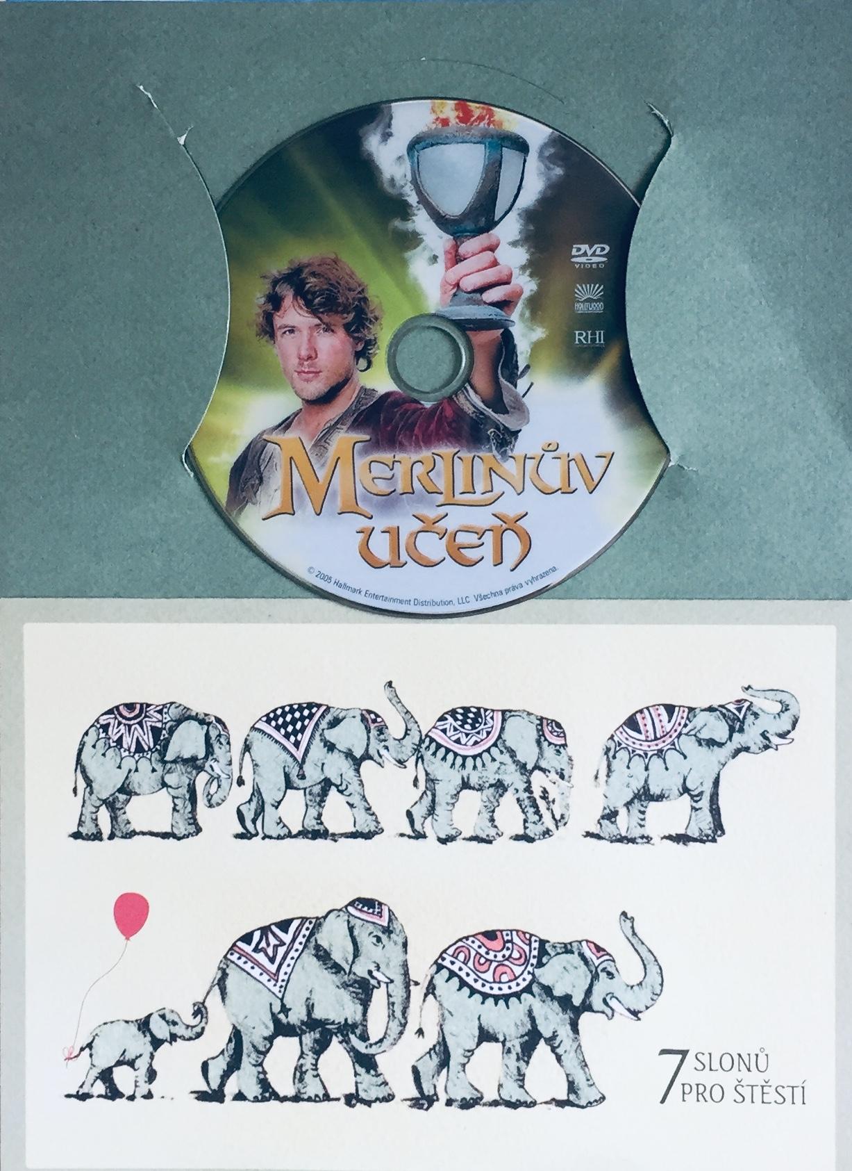 Merlinův učeň - DVD /dárkový obal/