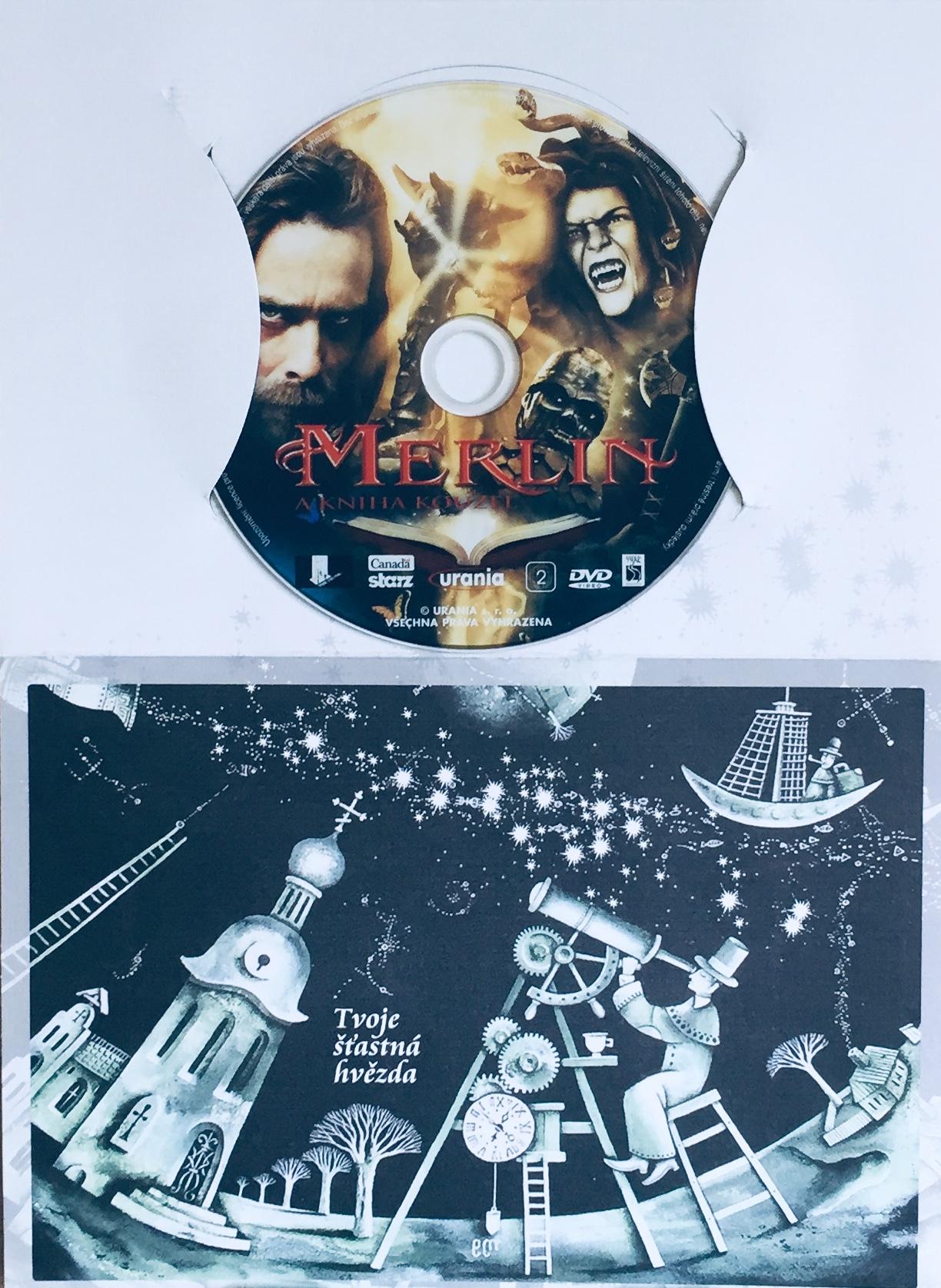 Merlin a kniha kouzel - DVD /dárkový obal/