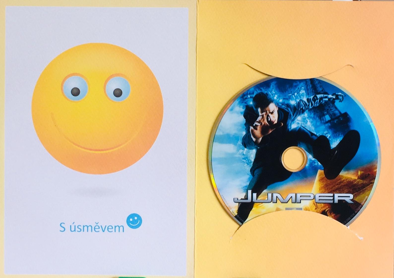 Jumper - DVD /dárkový obal/
