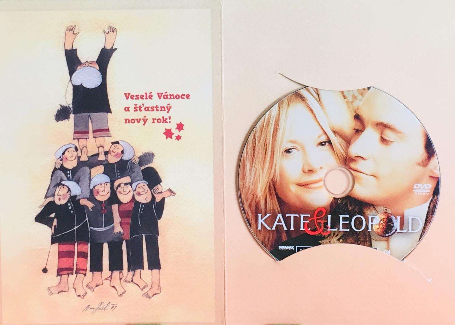 Kate a Leopold - DVD /dárkový obal/