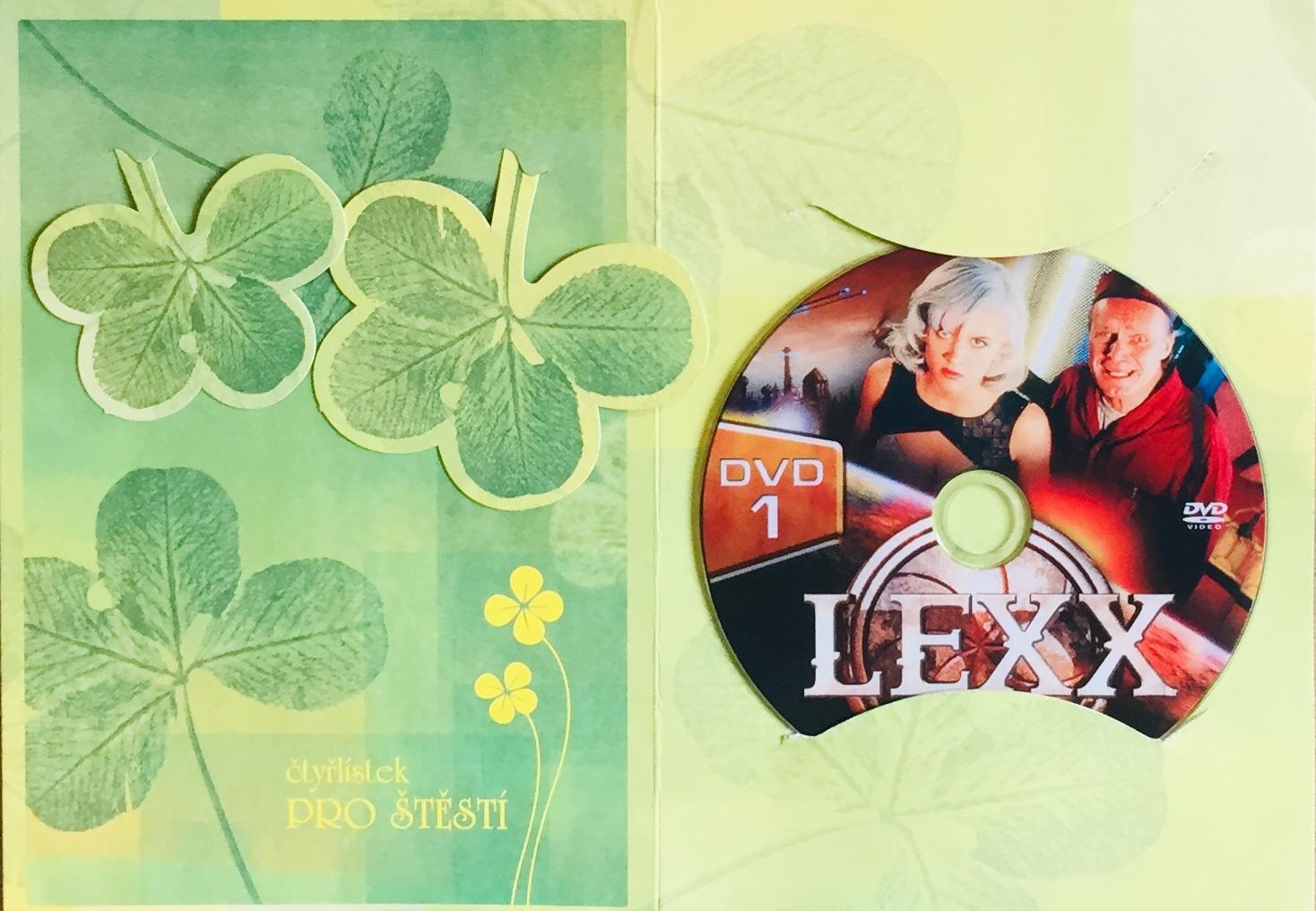 Lexx 1 - DVD /dárkový obal/