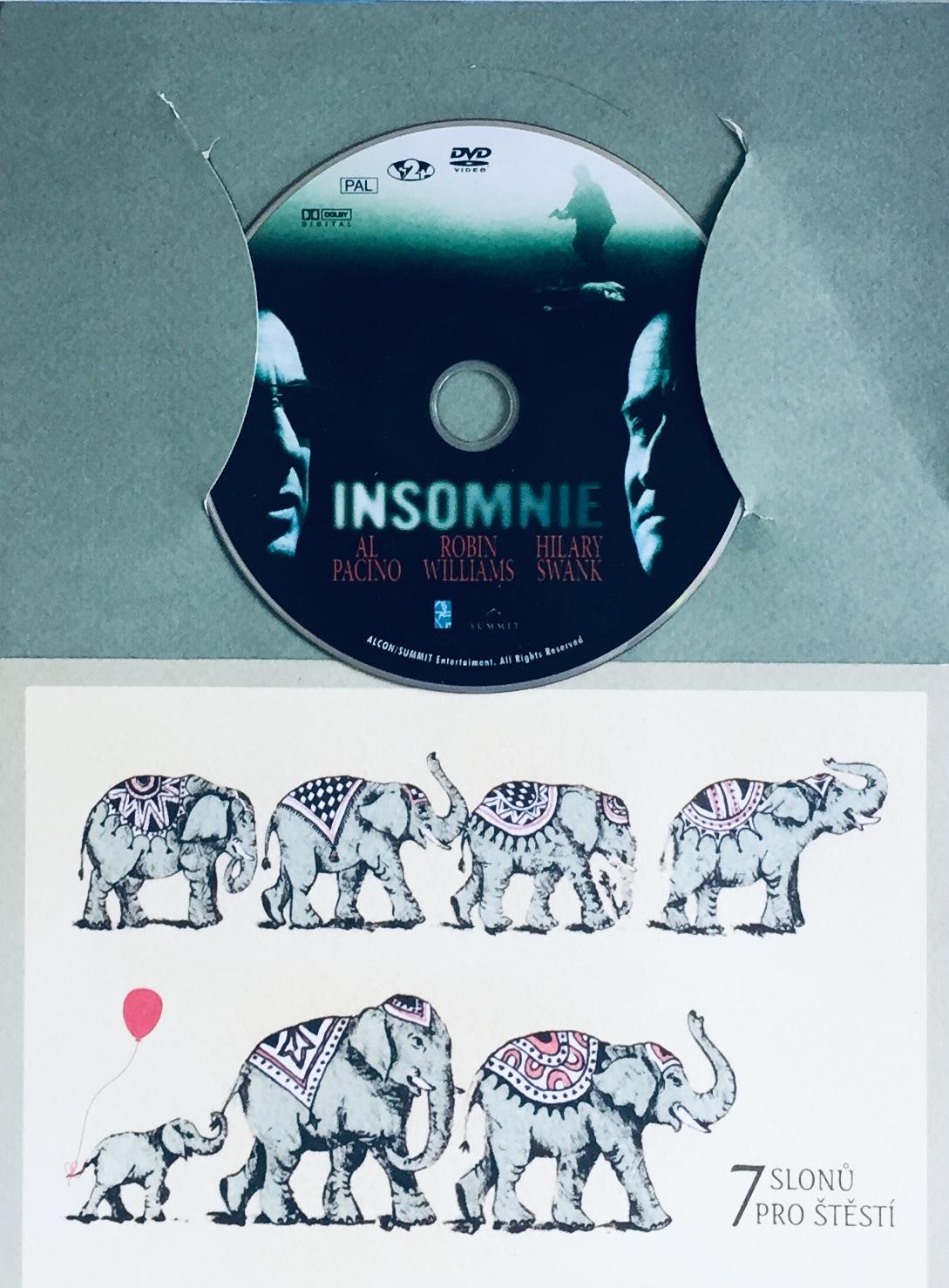 Insomnie - DVD /dárkový obal/