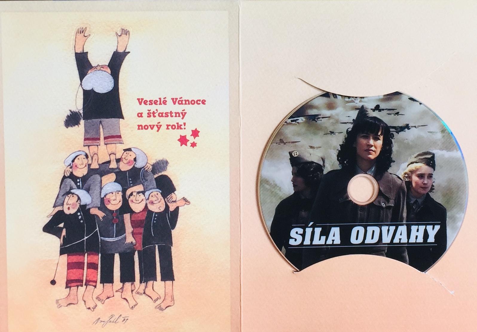 Síla odvahy - DVD /dárkový obal/