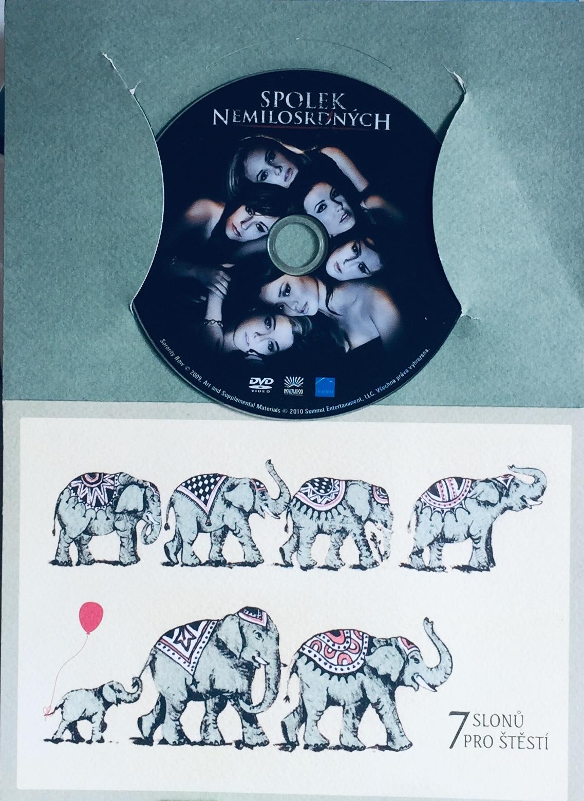Spolek nemilosrdných - DVD /dárkový obal/