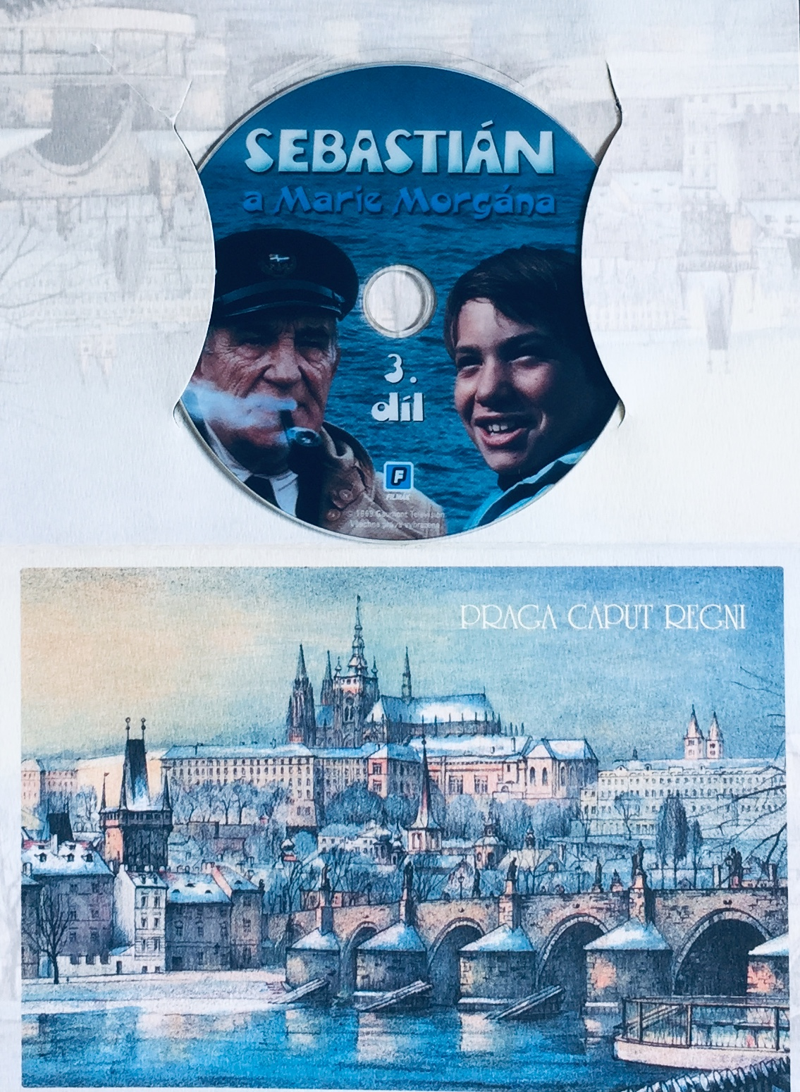 Sebastián a Marie Morgána - 3. díl - DVD /dárkový obal/
