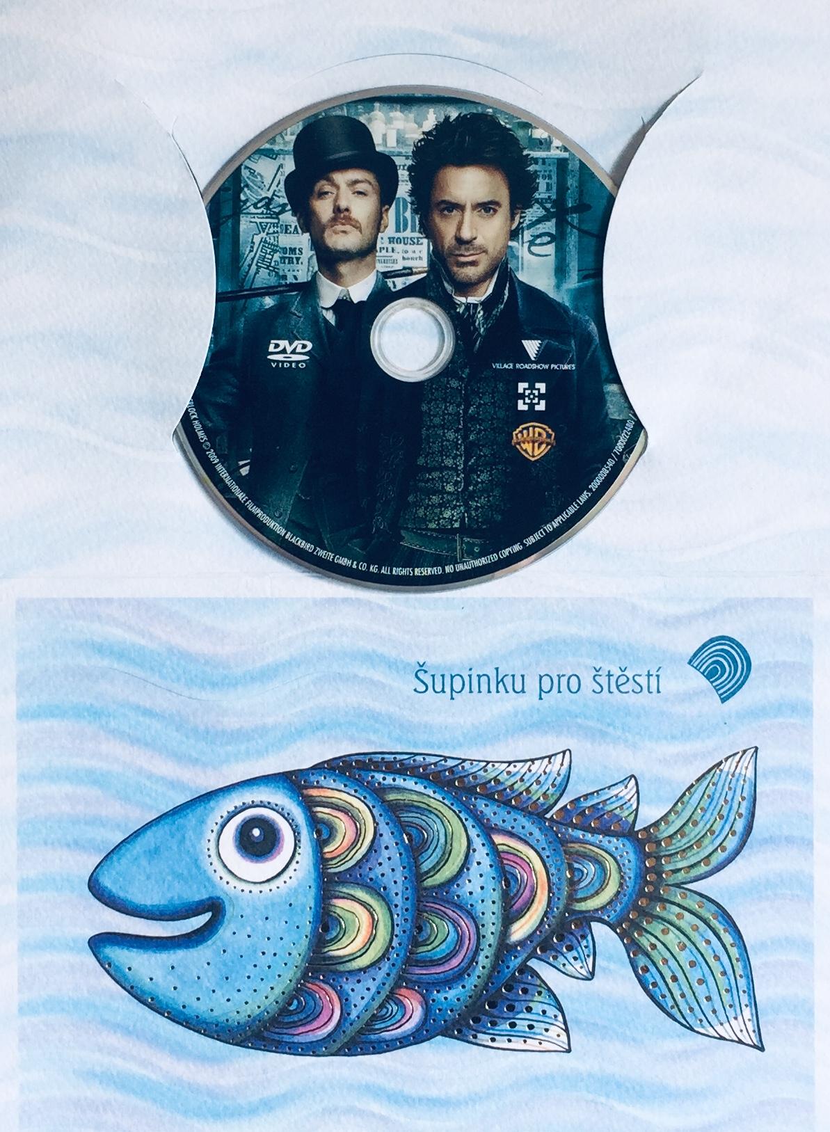 Sherlock Holmes - DVD /dárkový obal/