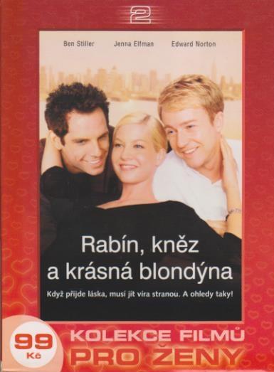 Rabín, kněz a krásná blondýna - DVD