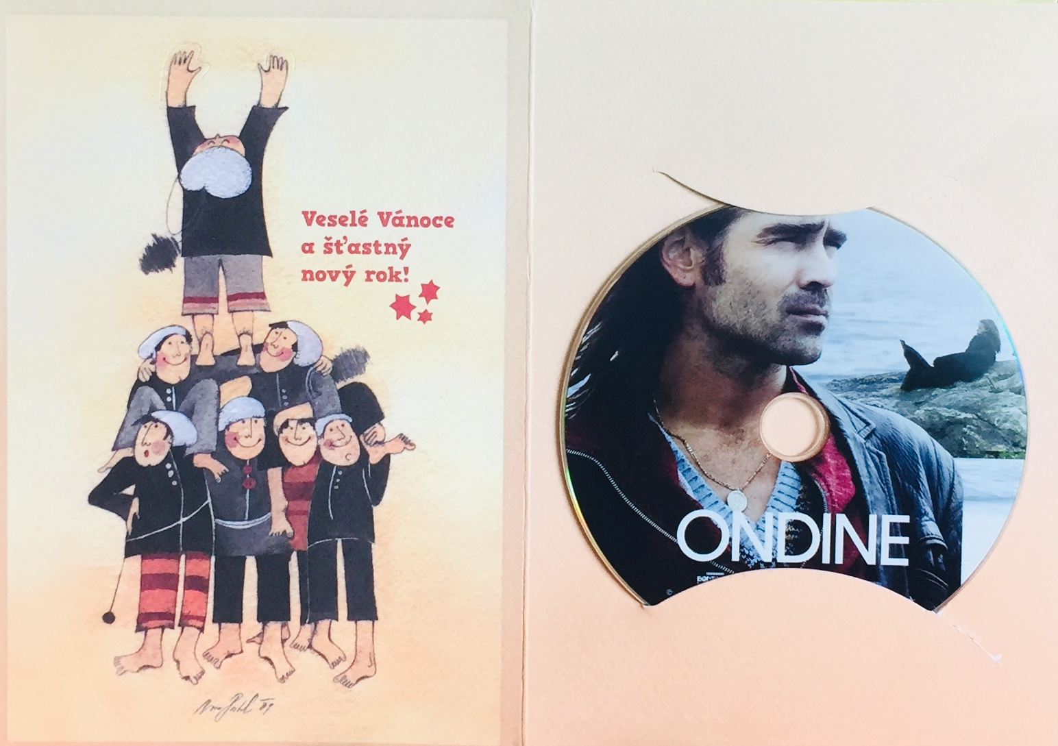 Ondine - DVD /dárkový obal/
