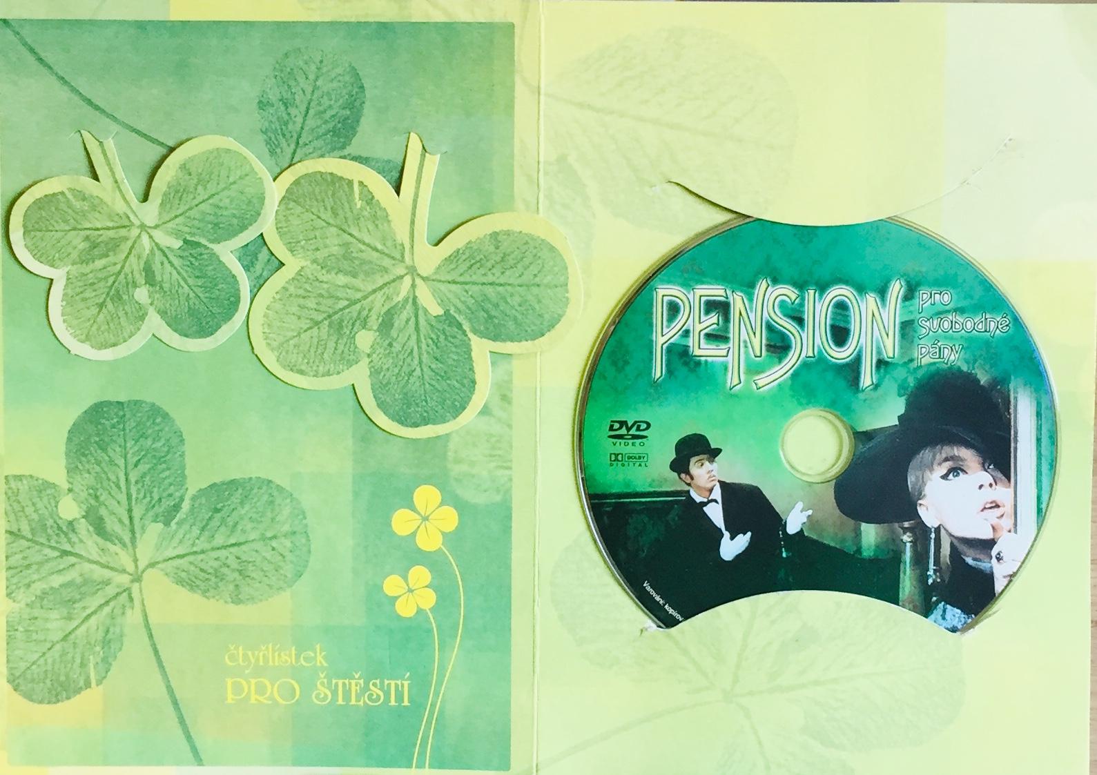 Pension pro svobodné pány - DVD /dárkový obal/