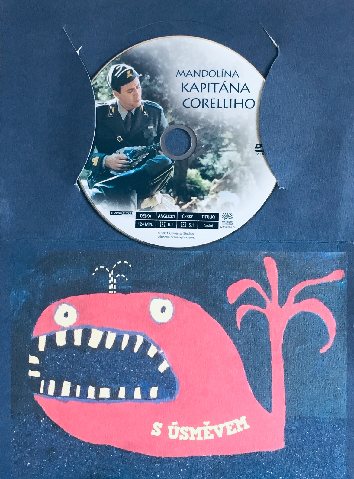 Mandolína kapitána Corelliho - DVD /dárkový obal/