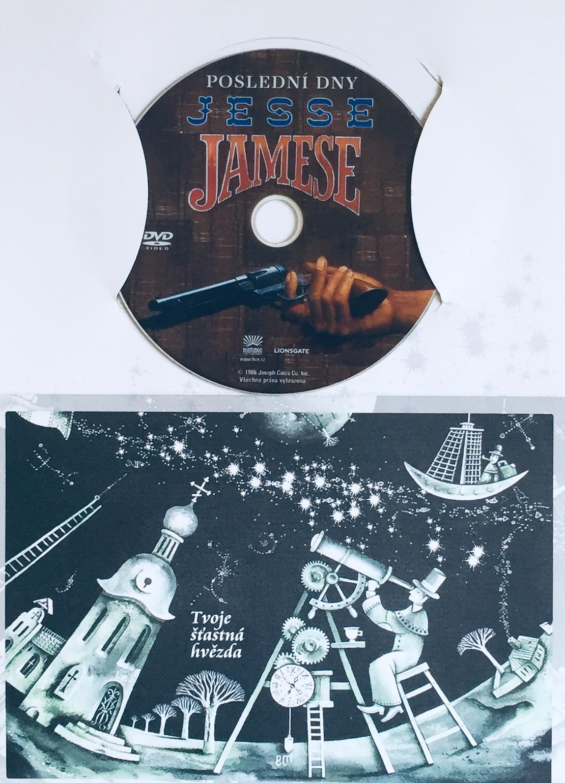 Poslední dny Jesse Jamese - DVD /dárkový obal/