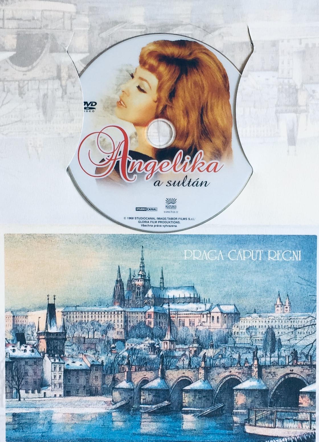 Angelika a Sultán - DVD /dárkový obal/