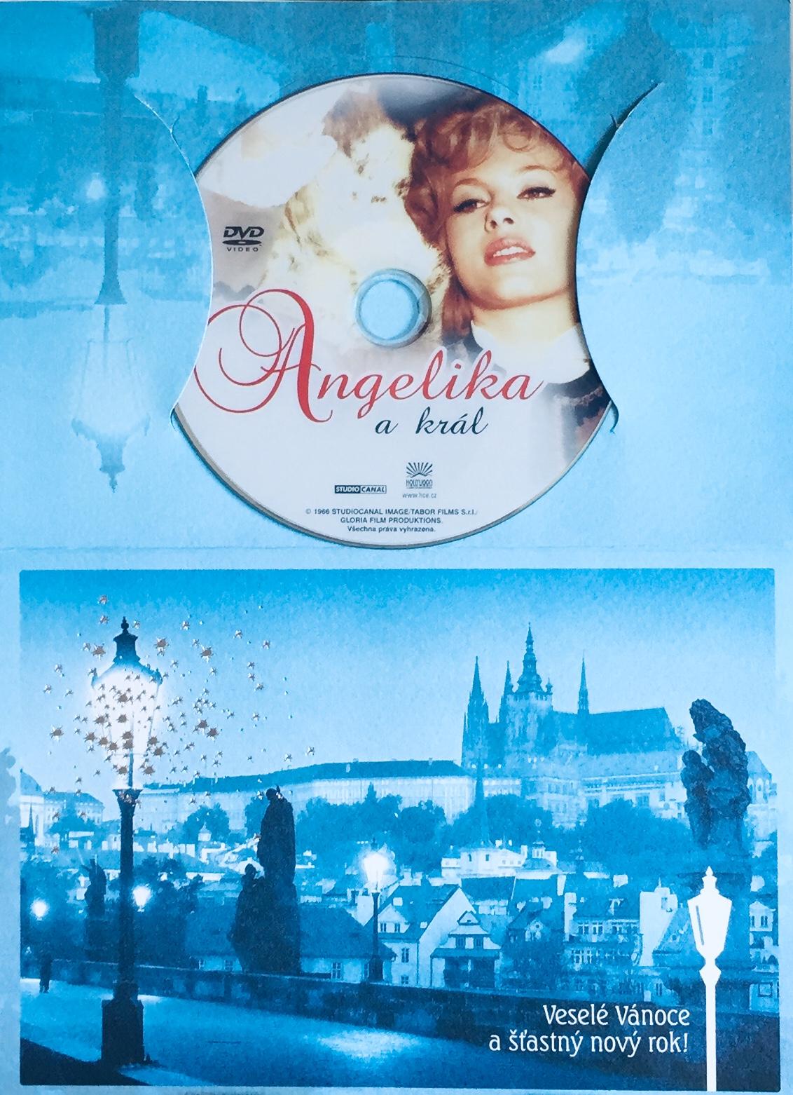 Angelika a král - DVD /dárkový obal/