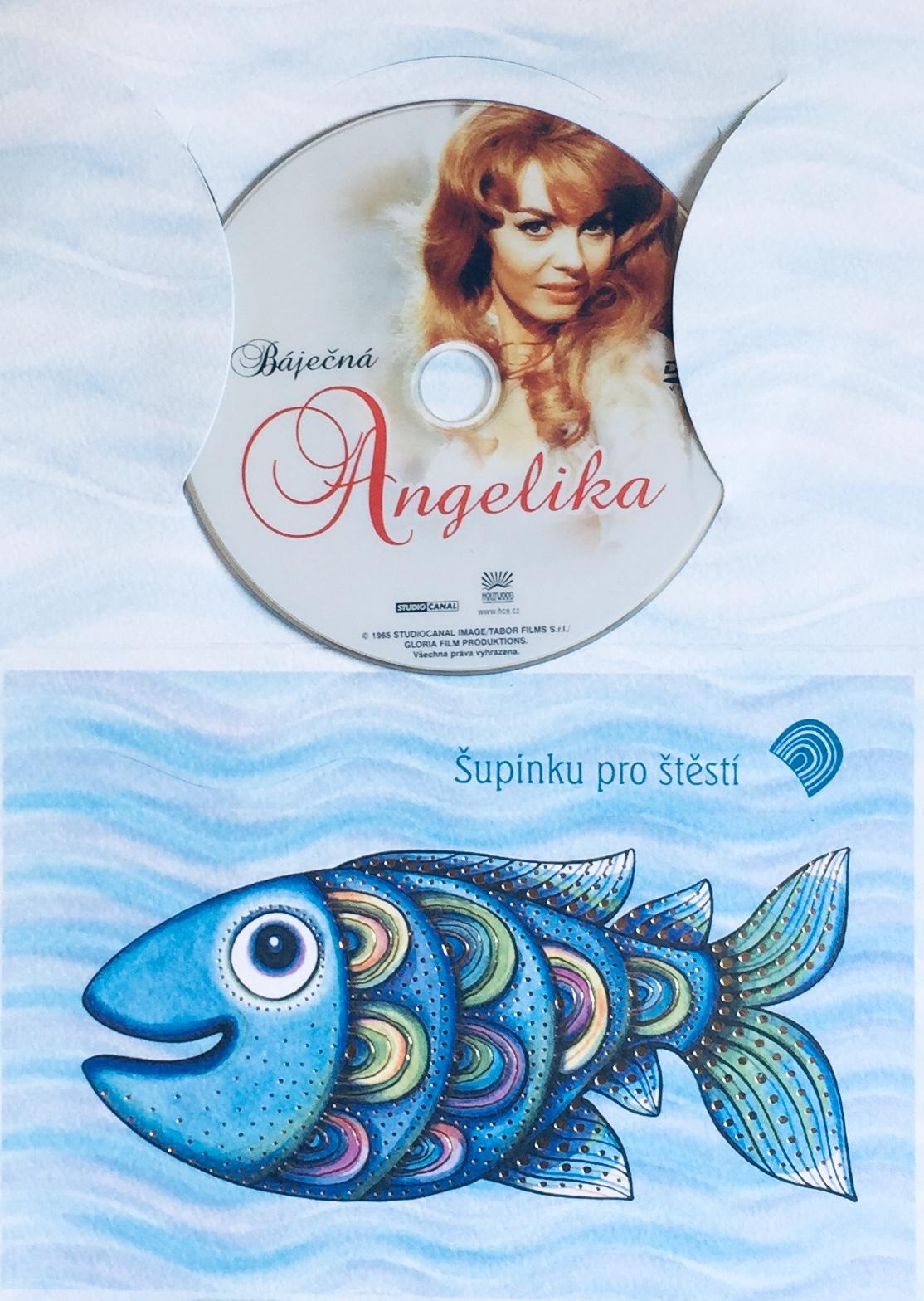 Báječná Angelika - DVD /dárkový obal/